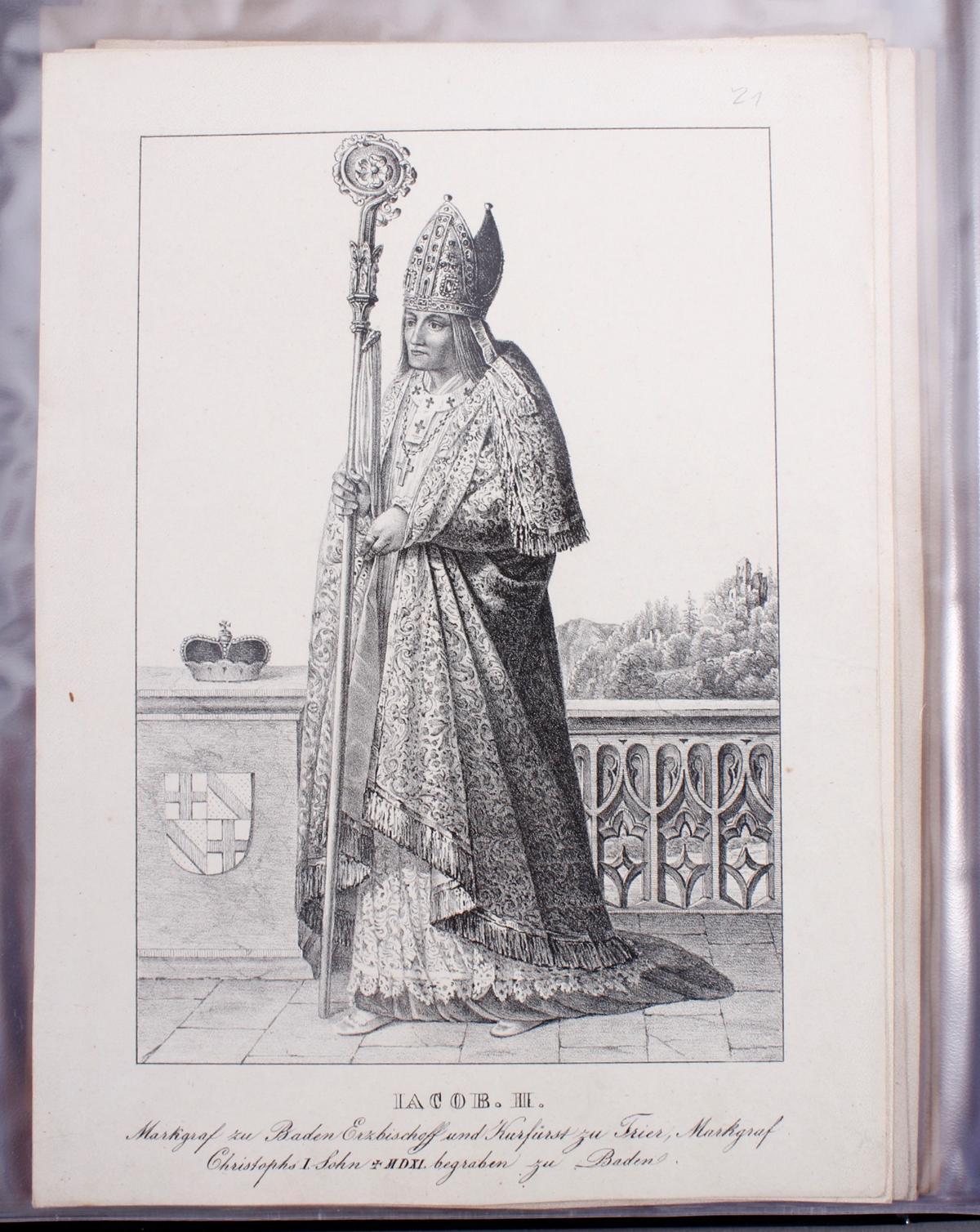 Abbildungen der Regenten des fürstlichen Hauses Baden-23