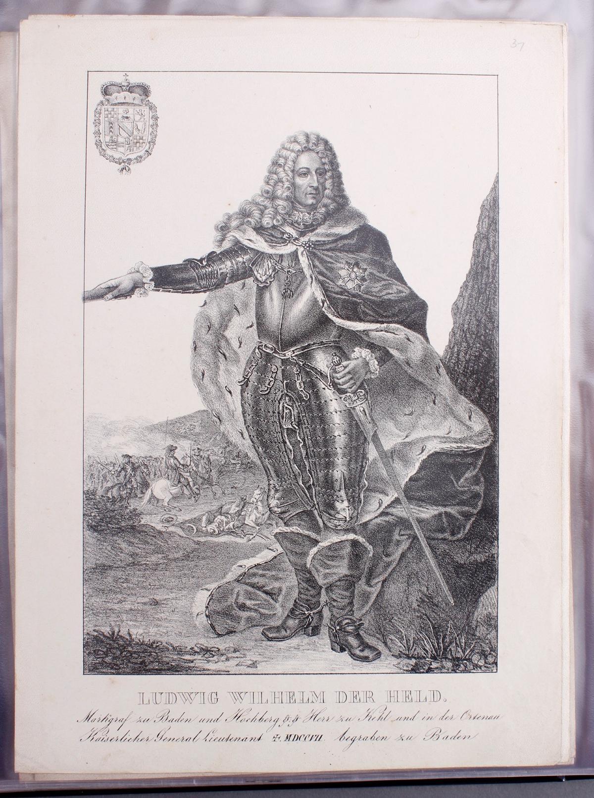 Abbildungen der Regenten des fürstlichen Hauses Baden-32