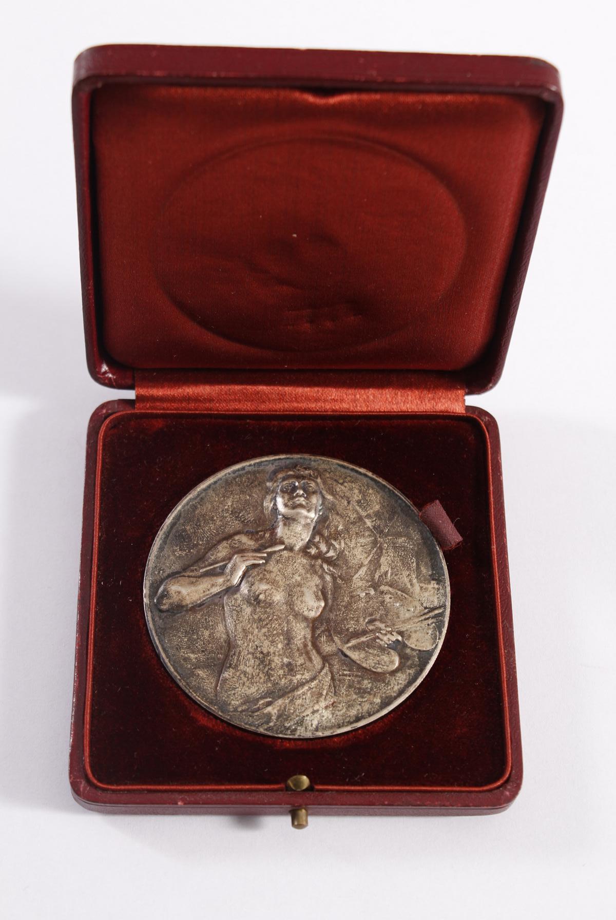 Jugendstil-Medaille Verein Bildender Künstler Karlsruhe