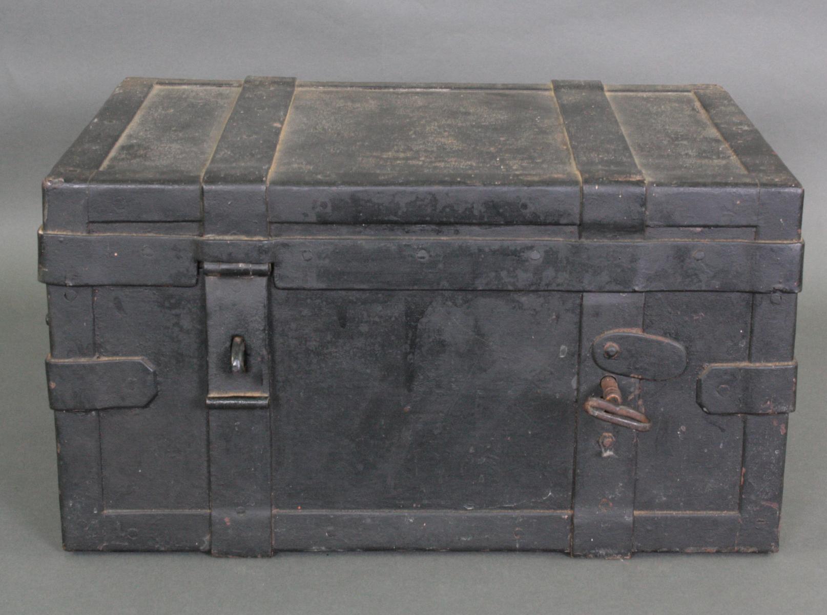 Eiserner Geldkassette, 19. Jahrhundert
