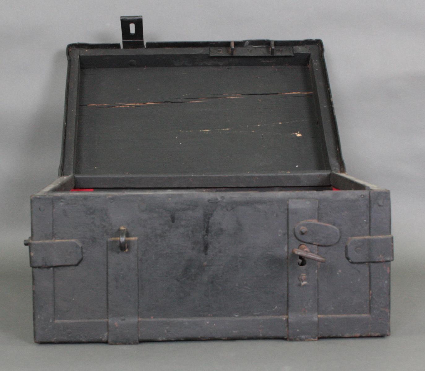 Eiserner Geldkassette, 19. Jahrhundert-3