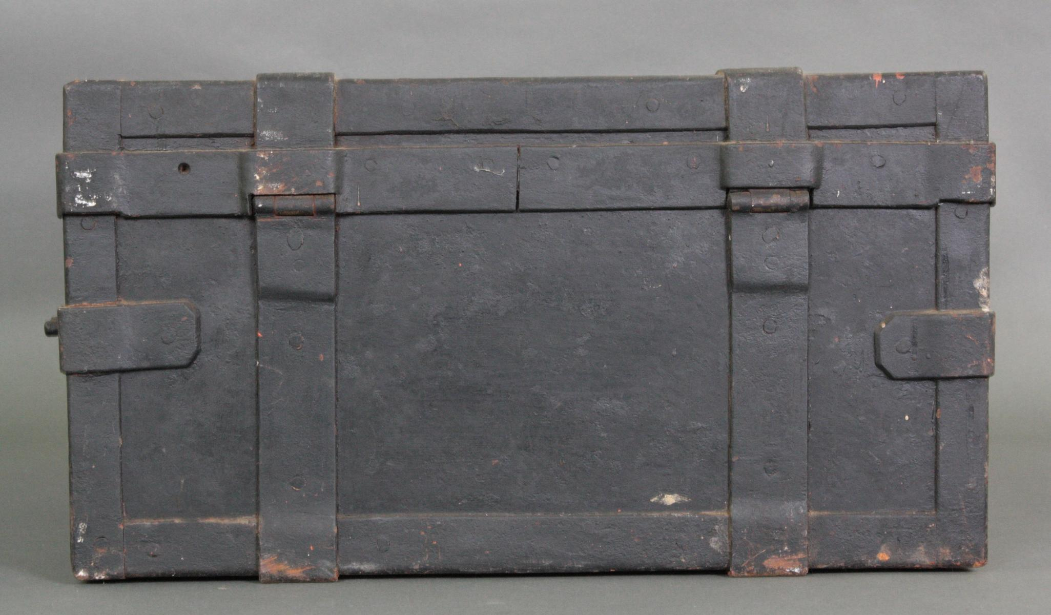 Eiserner Geldkassette, 19. Jahrhundert-6