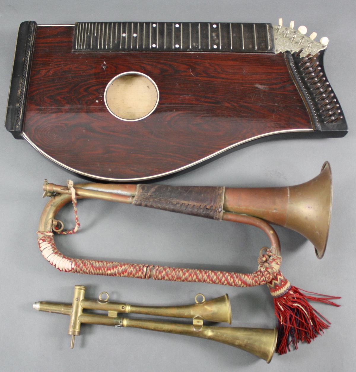 Konvolut Musikinstrumente um 1900