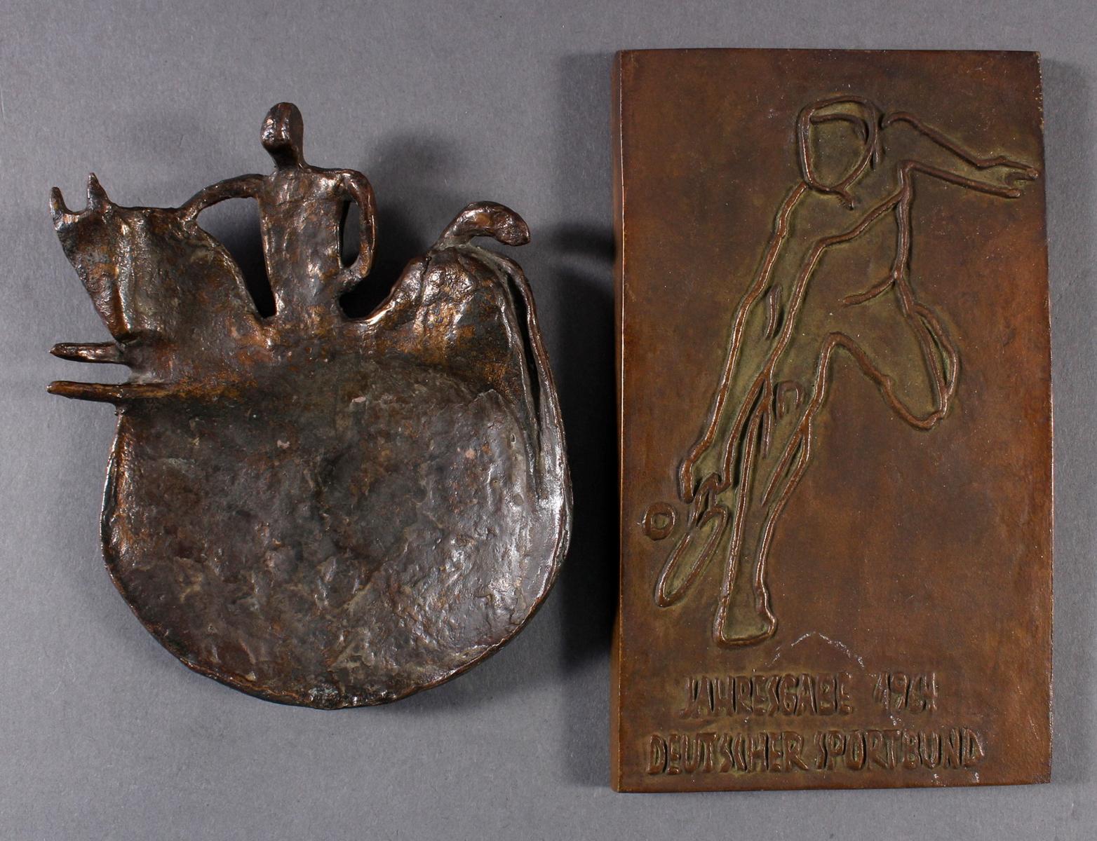 2 Jahresgaben des Deutschen Sportbundes 1964 und 1967