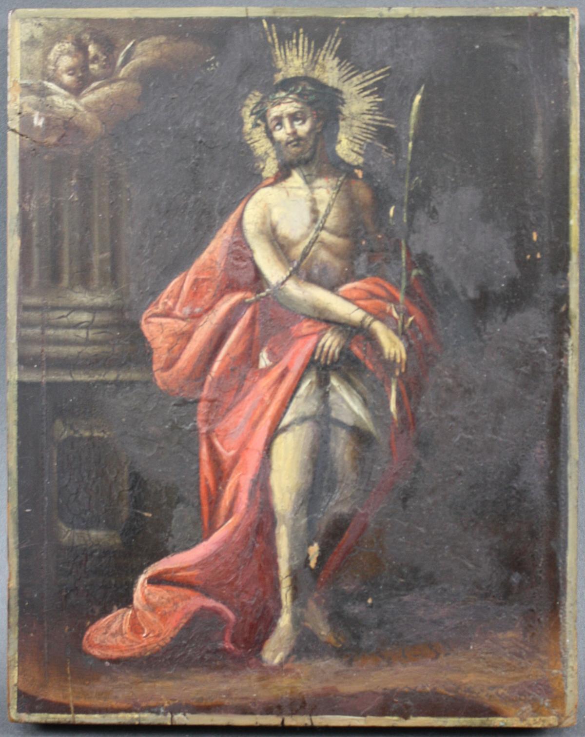 Ikone, Hl. Johannes der Täufer