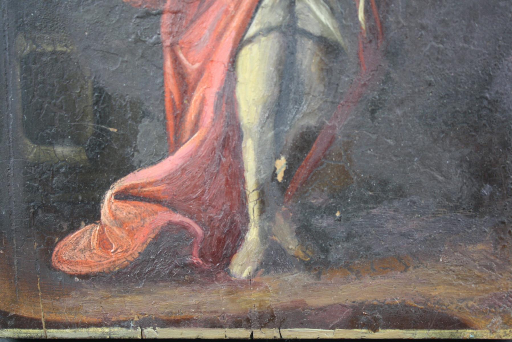 Ikone, Hl. Johannes der Täufer-4