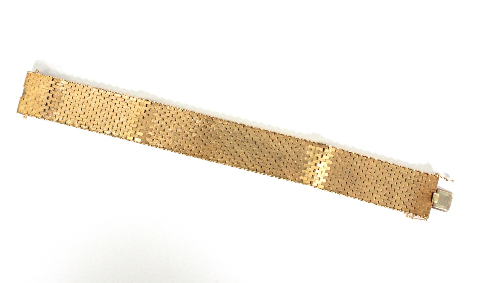 Damenarmband 14 Karat Gelbgold