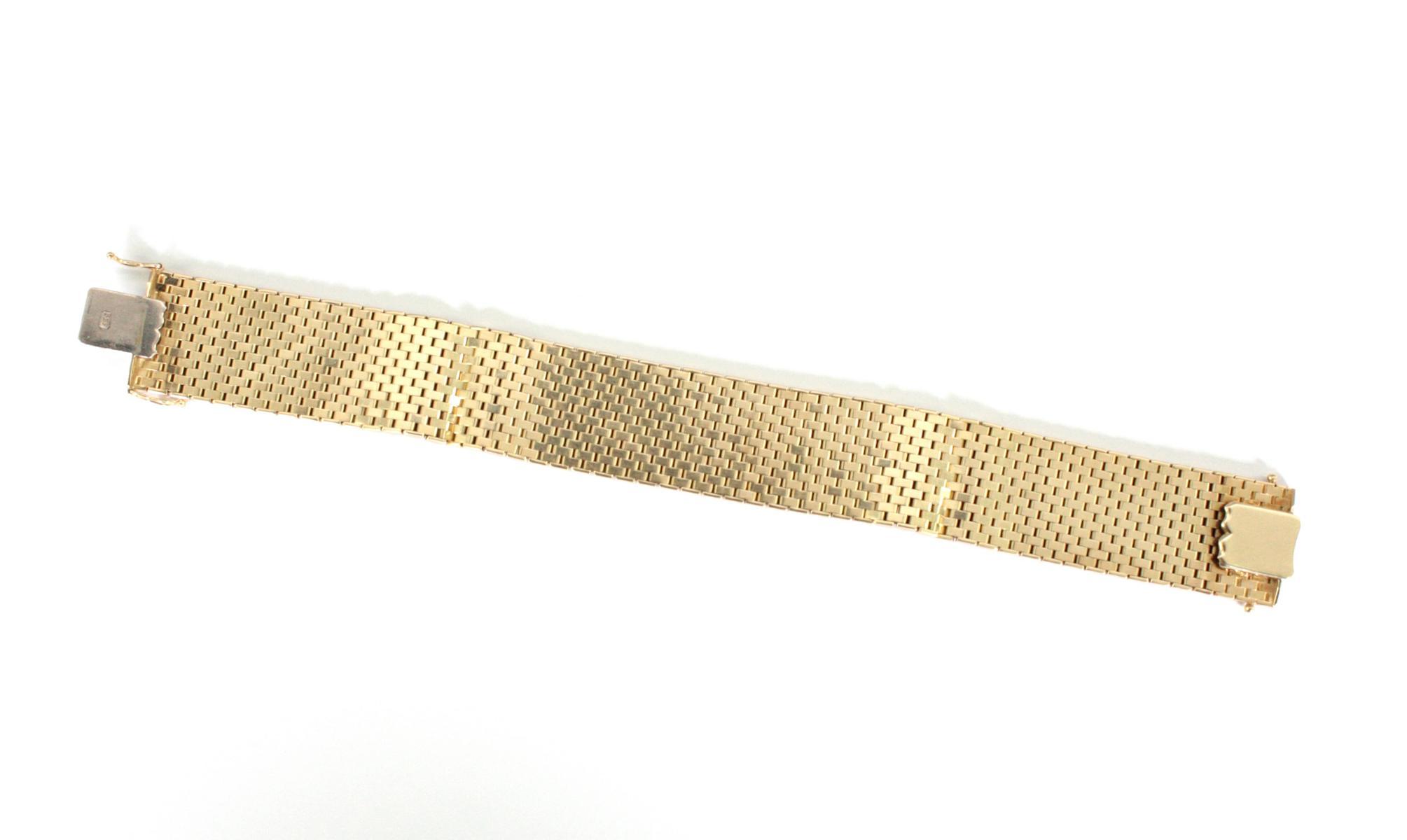 Damenarmband 14 Karat Gelbgold-2