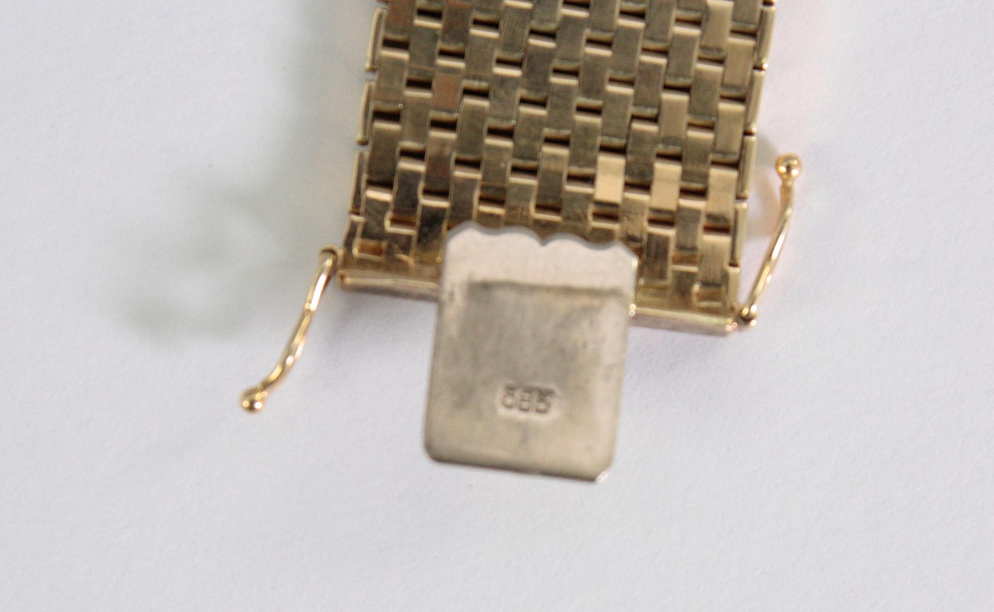 Damenarmband 14 Karat Gelbgold-3