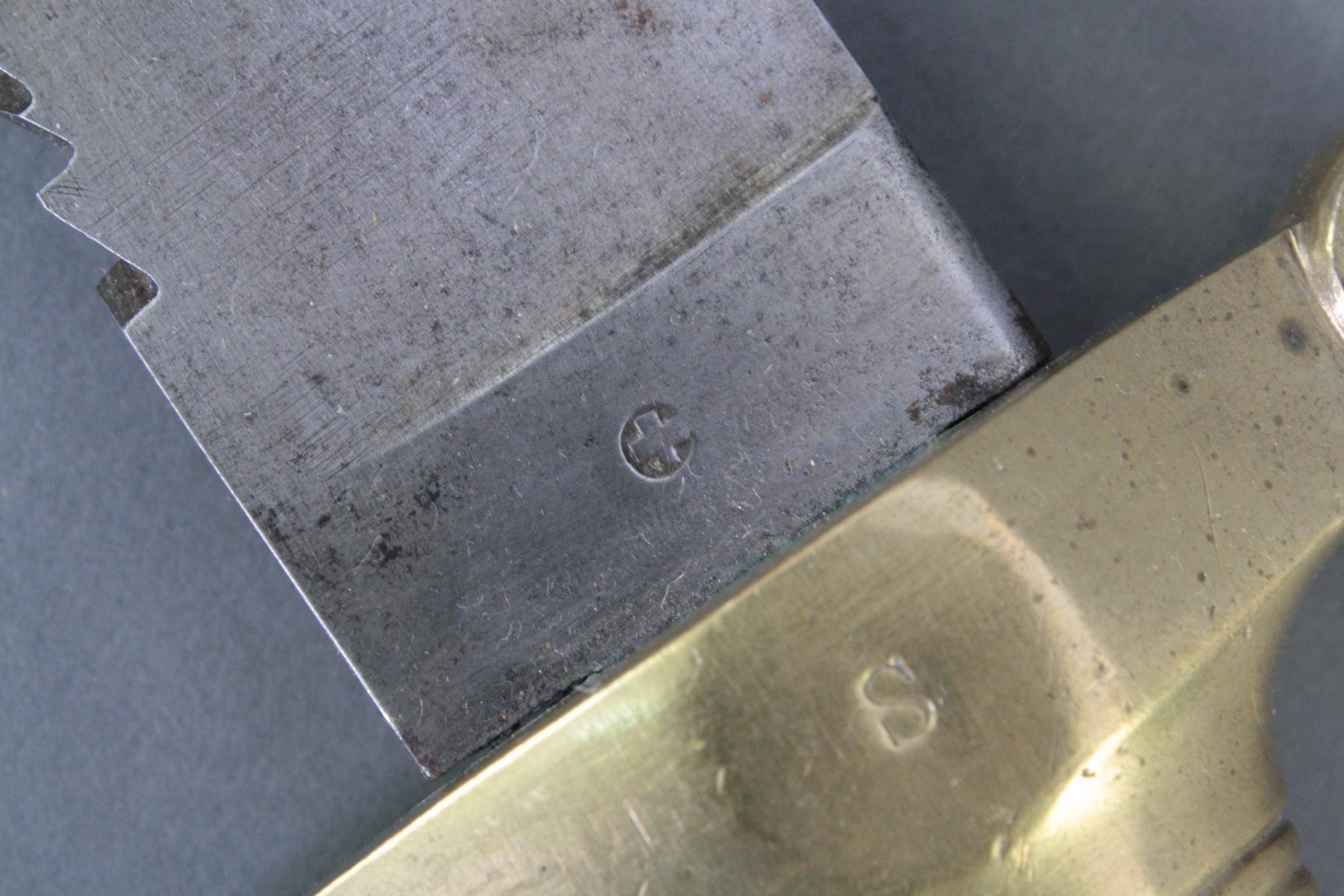 Faschinenmesser, Schweiz 1842/52 ohne Scheide-2