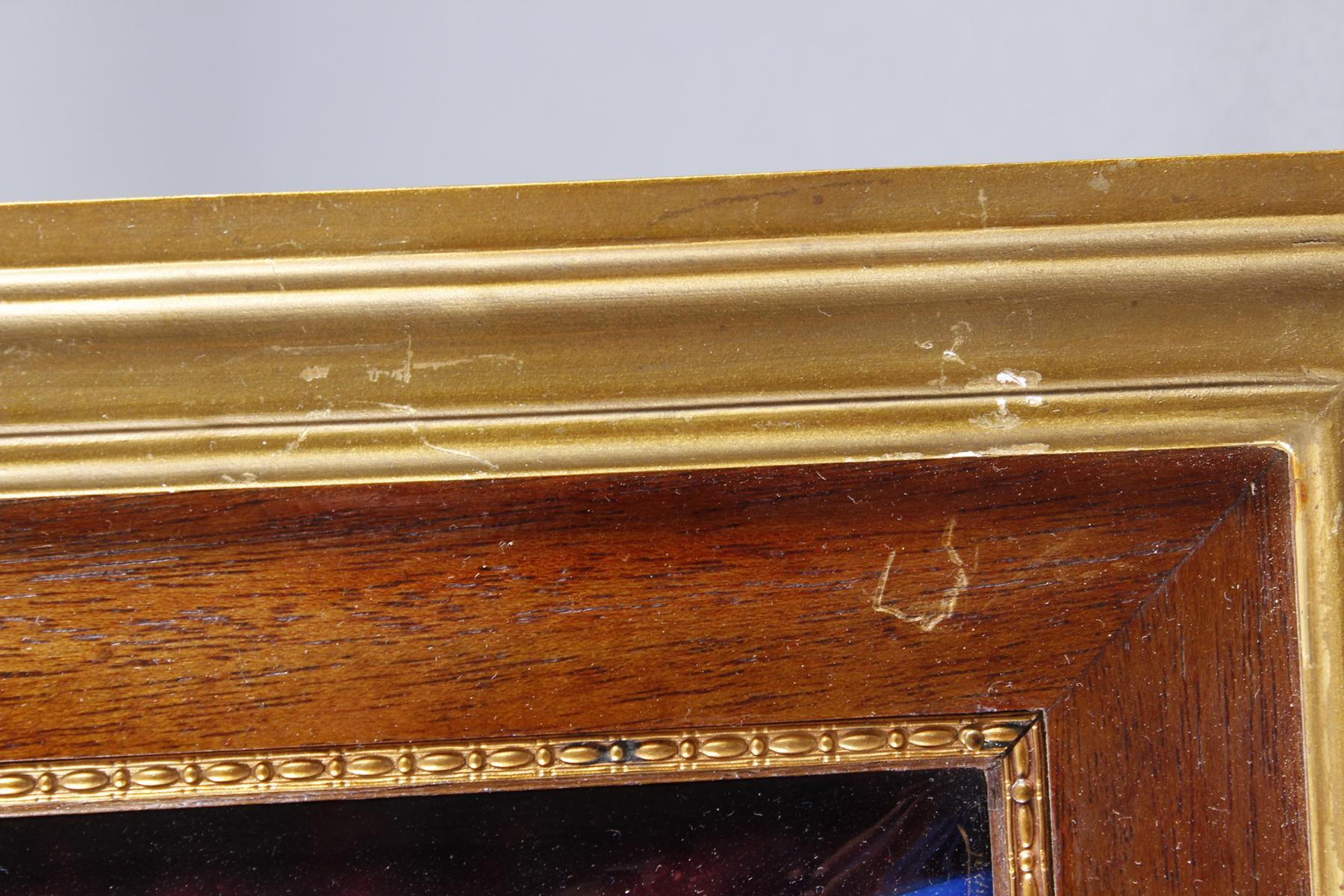Emaillebild, Limoges, Signiert E. Soupal um 1900-3