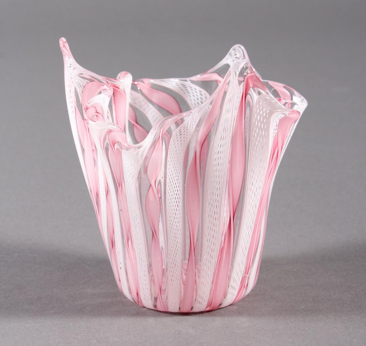Taschentuchvase, Fazzoletto, wohl Venini 50er / 60er Jahre-2