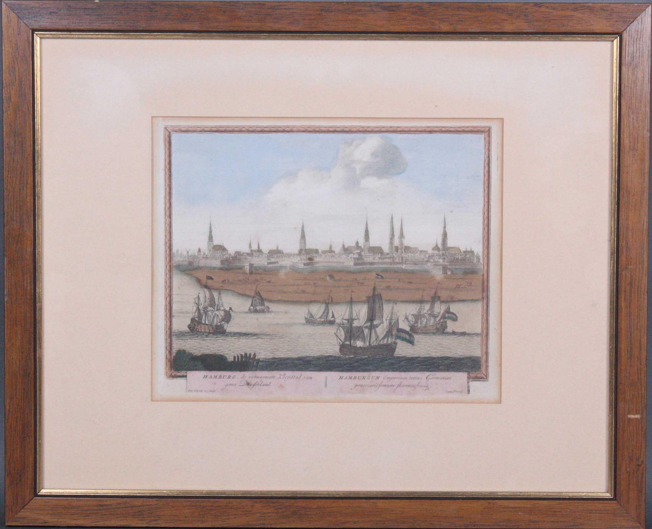 Peter Schenk (um 1645 Elberfeld (Wuppertal)-um 1715 Amsterdam). Kupferstich
