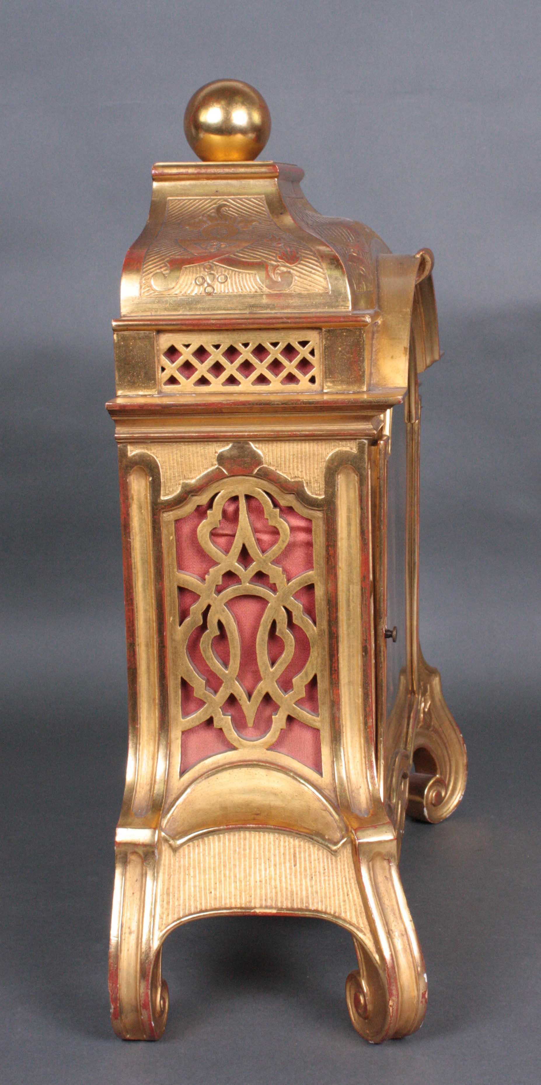 Tischuhr um 1900-3