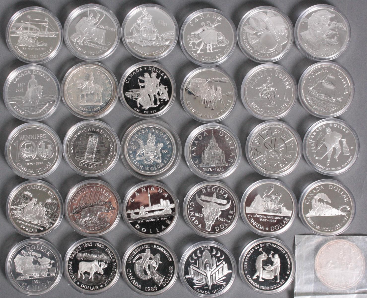 Kanada, One Dollar Sammlung-2