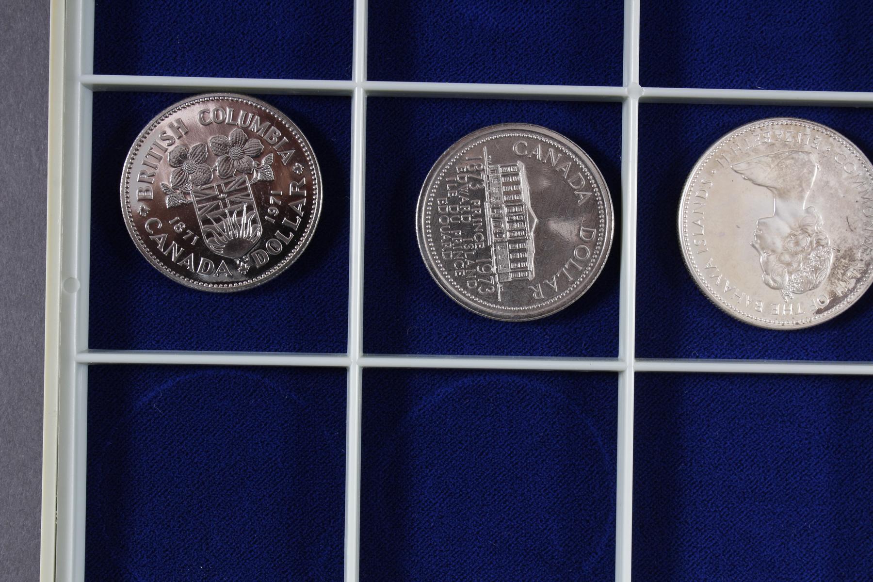 Konvolut Münzen, Südafrika, Kanada und USA, darunter viel Silber-4