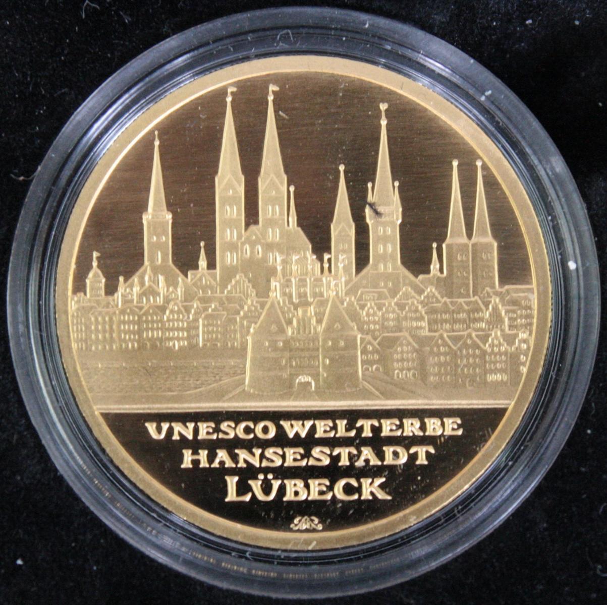 100 Euro Deutschland, Goldmünze, Jahrgang 2007-2