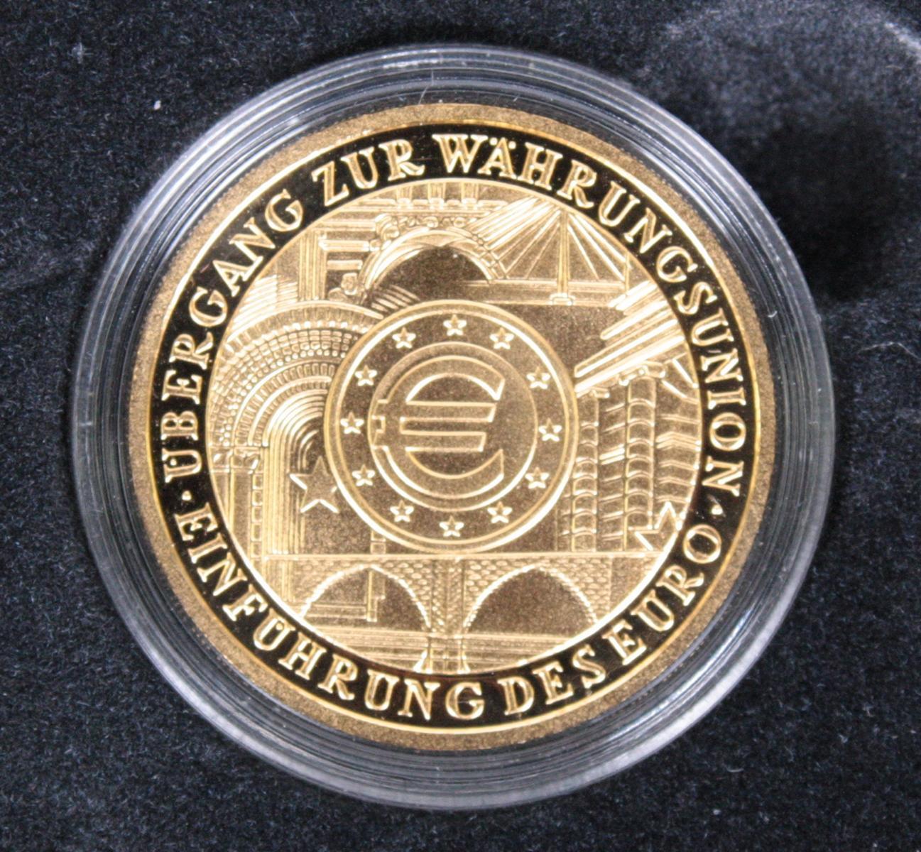 100 Euro Deutschland, Goldmünze, Jahrgang 2002-2