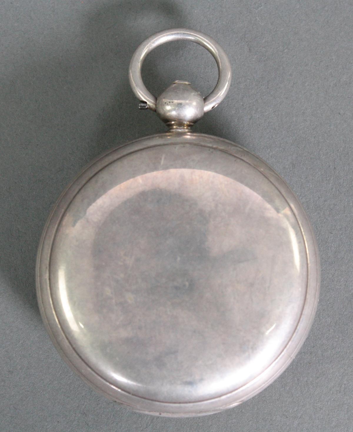 Schwere Taschenuhr, England 1. Hälfte 19. Jh. Chronometer-6