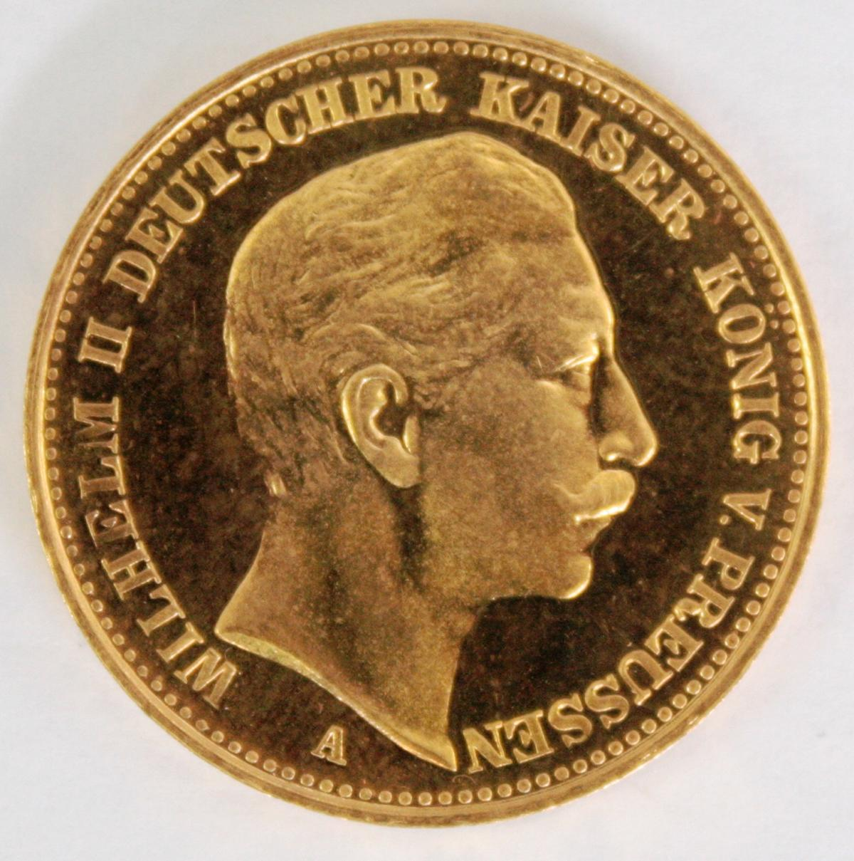 Preußen 1905, 20 Mark, Wilhelm II