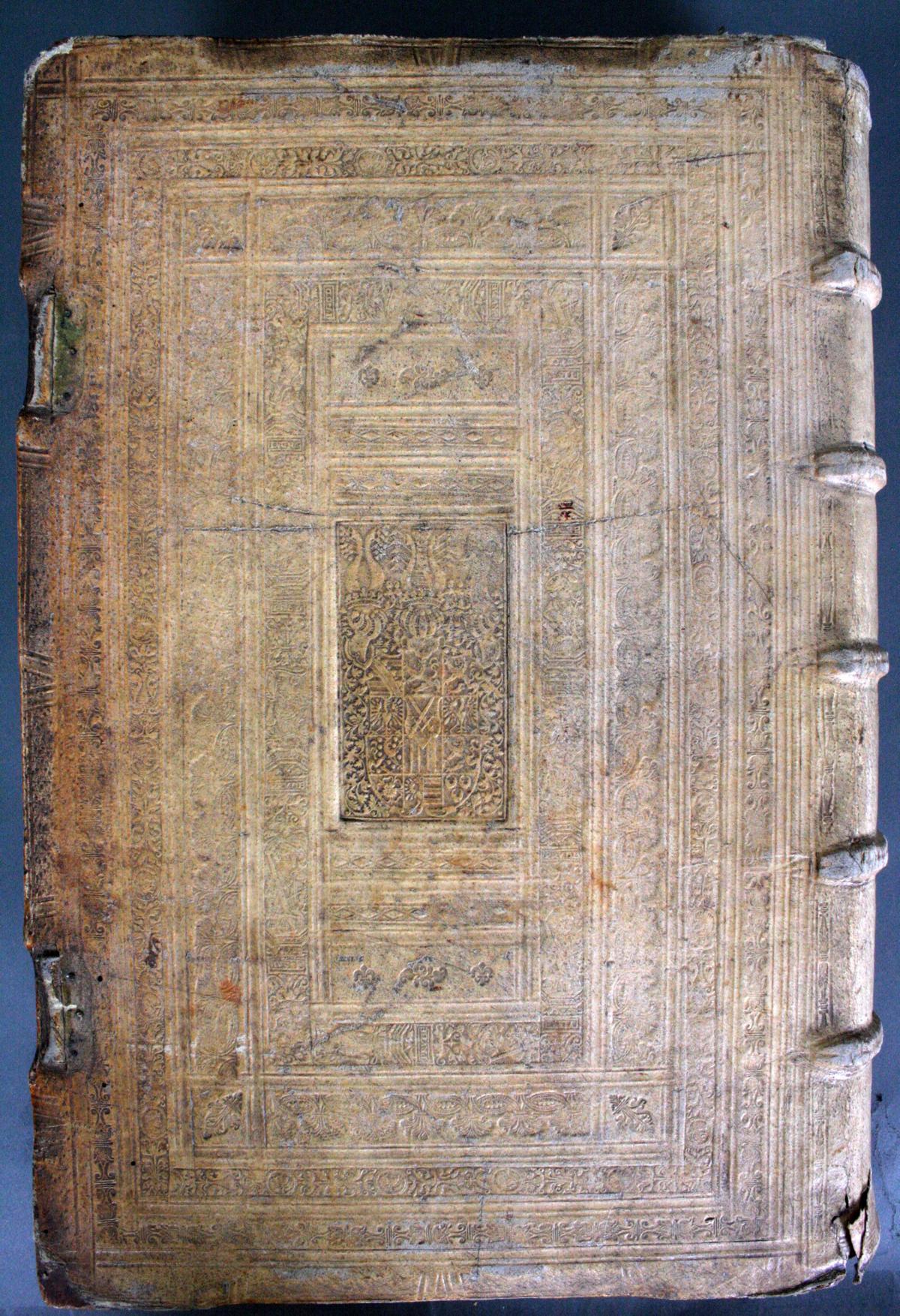Griechische-Lateinische Bibel, Novum Testamentum 1582-21