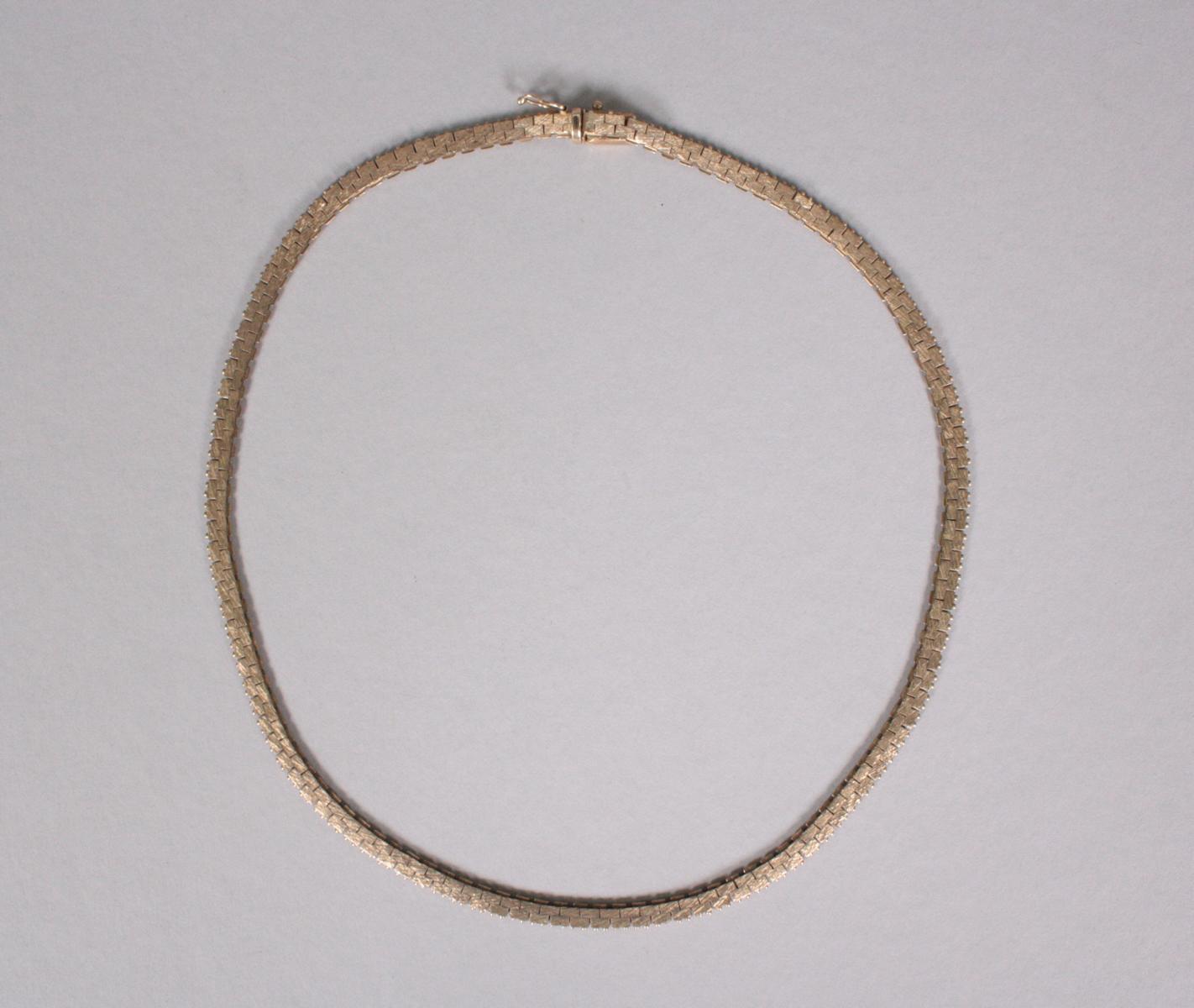 Halskette, 8 Karat Gelbgold