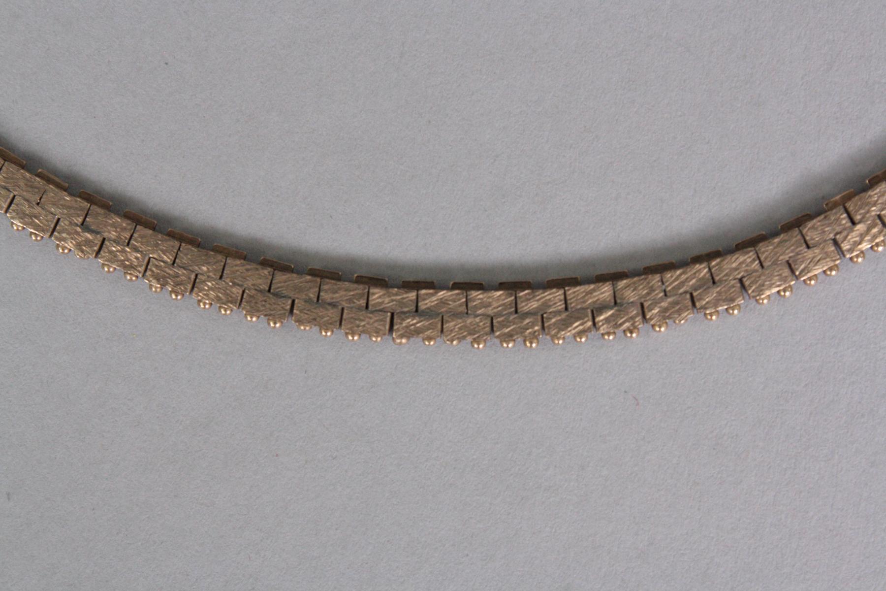 Halskette, 8 Karat Gelbgold-2