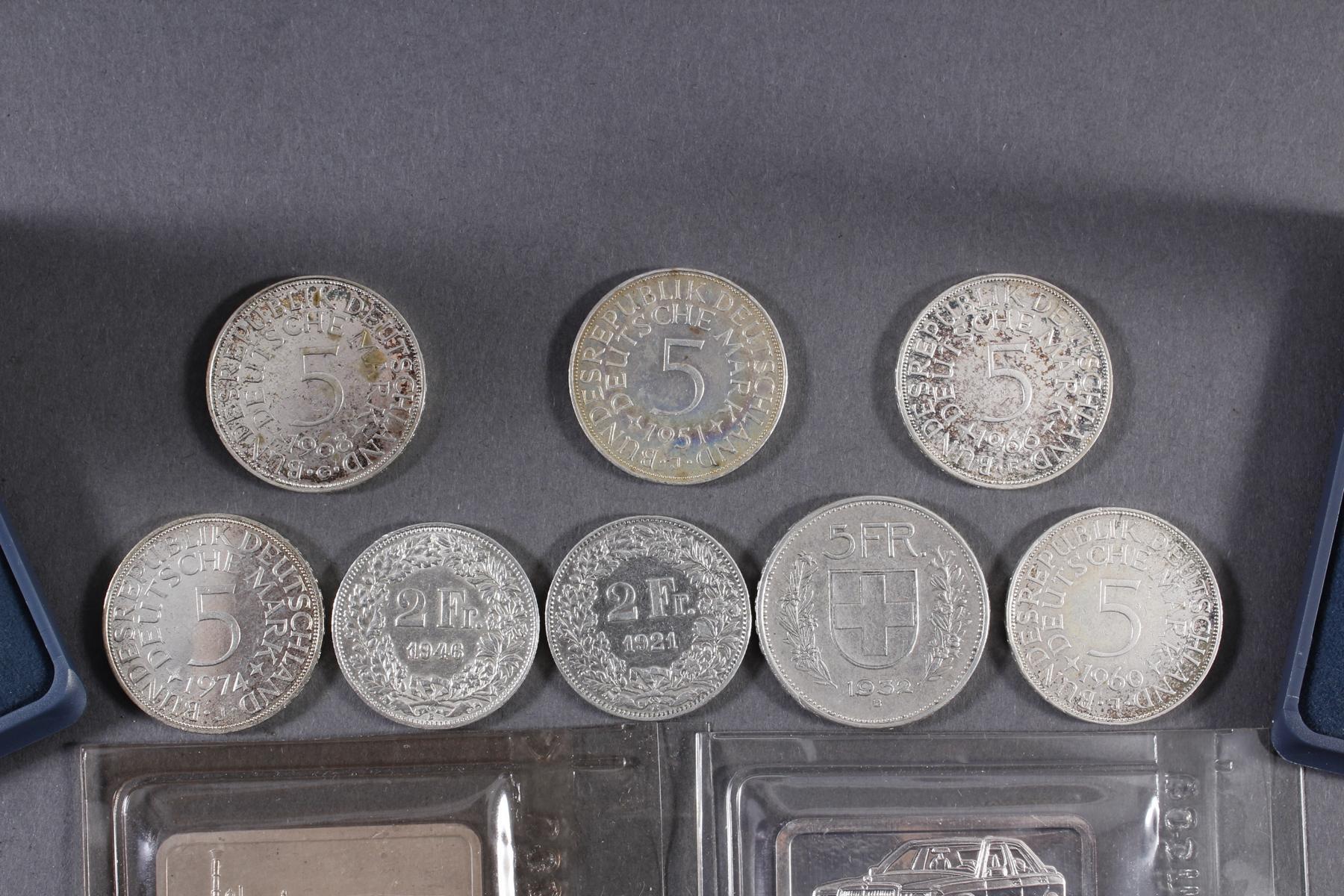Silber Münz- / Barren- / Medaillenkonvolut-2