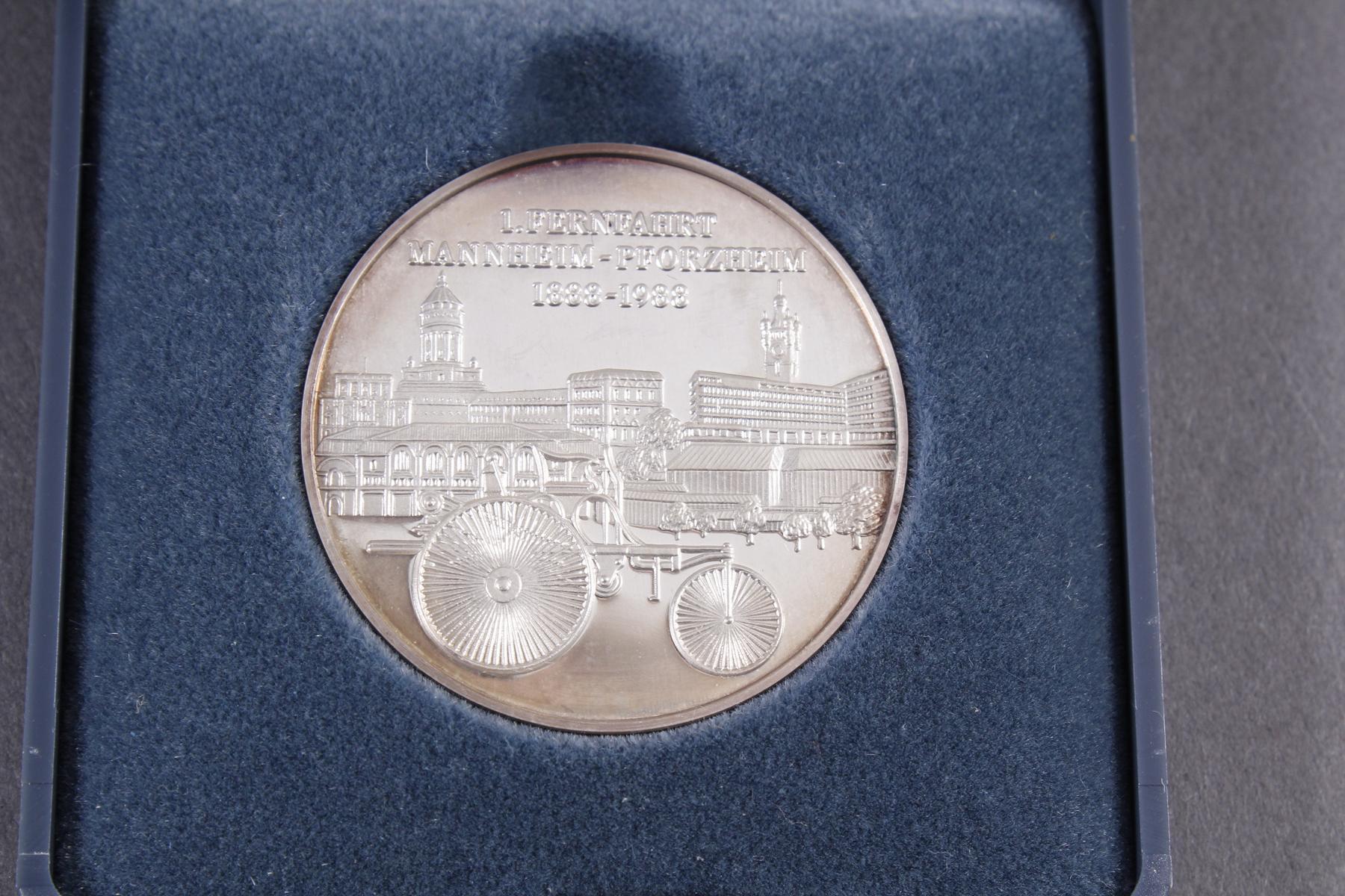 Silber Münz- / Barren- / Medaillenkonvolut-3