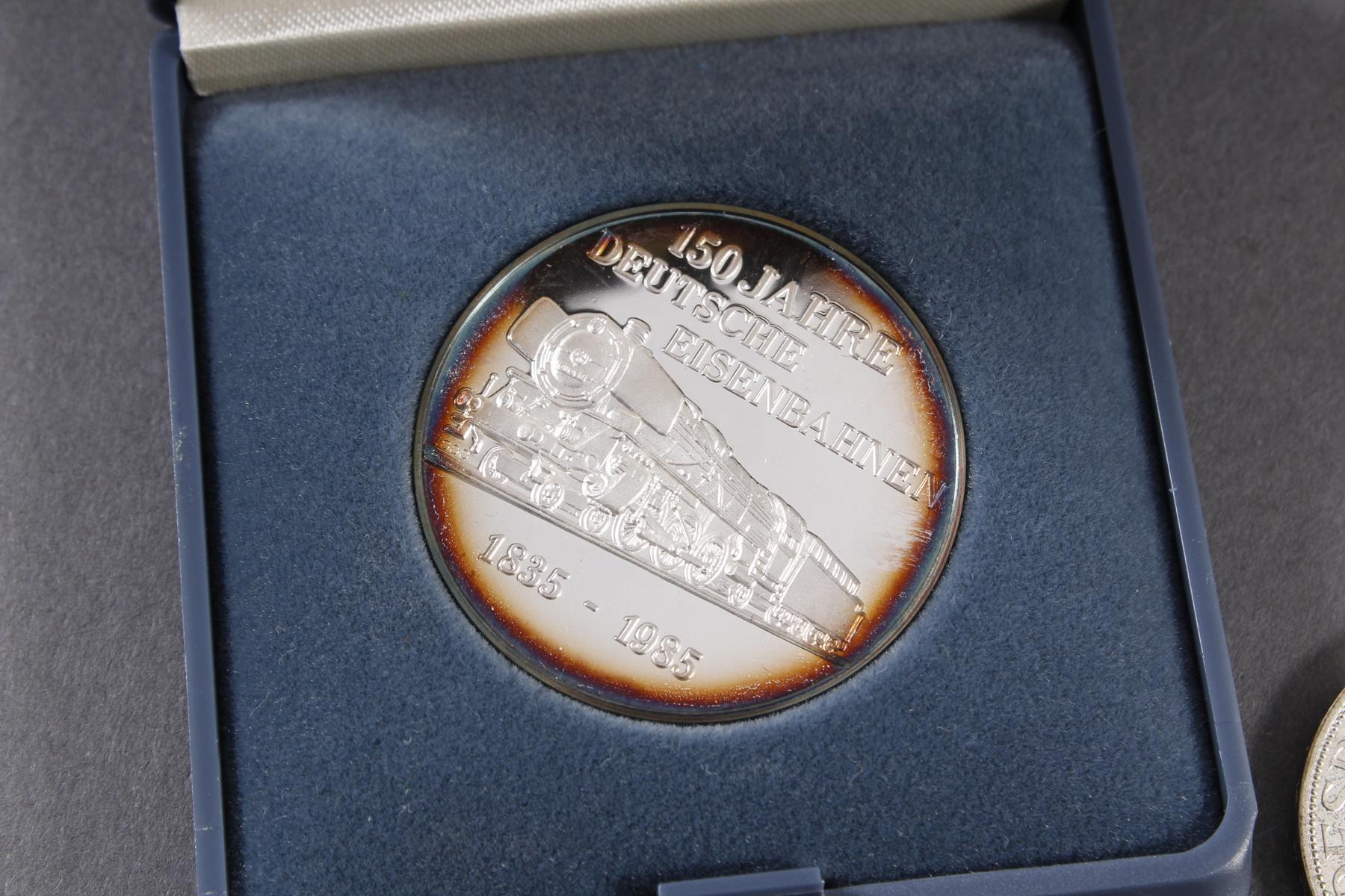 Silber Münz- / Barren- / Medaillenkonvolut-4