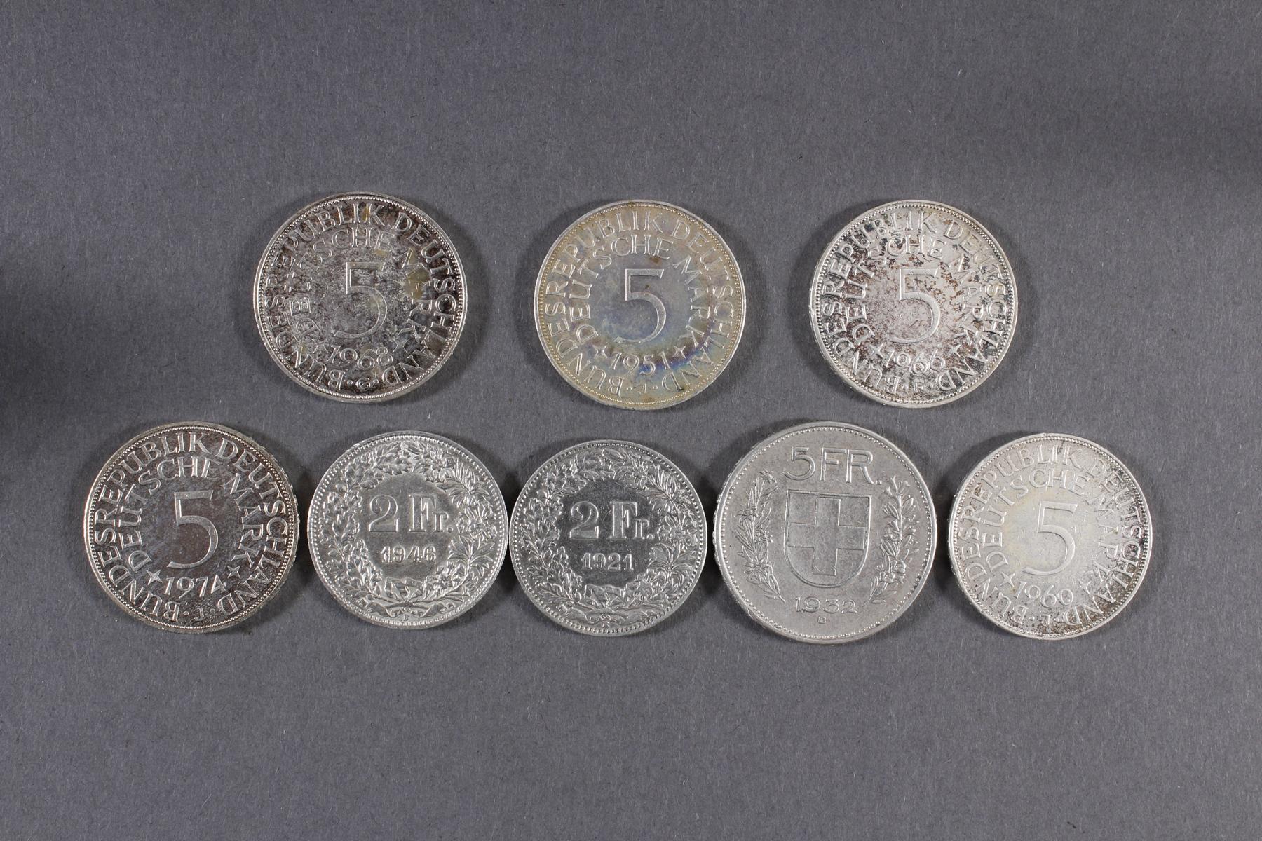 Silber Münz- / Barren- / Medaillenkonvolut-5