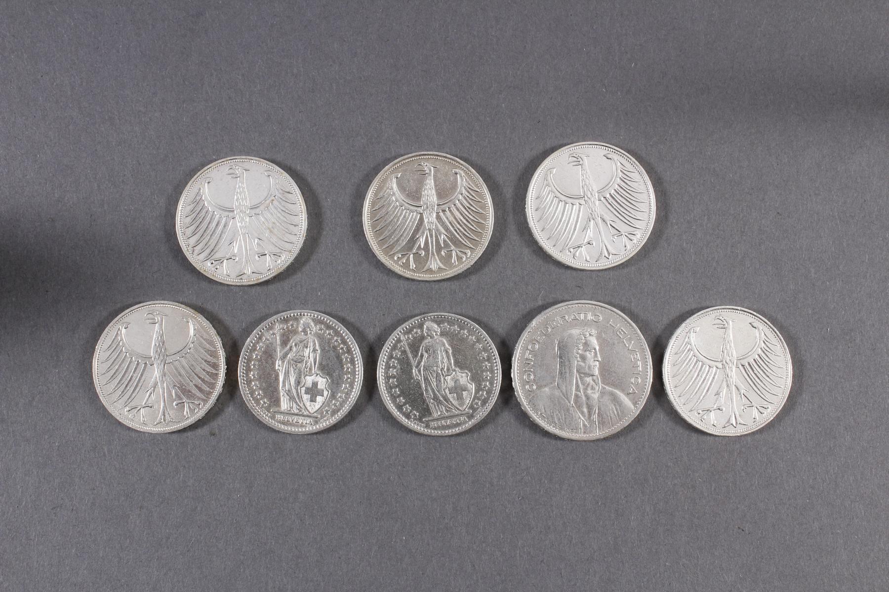 Silber Münz- / Barren- / Medaillenkonvolut-6