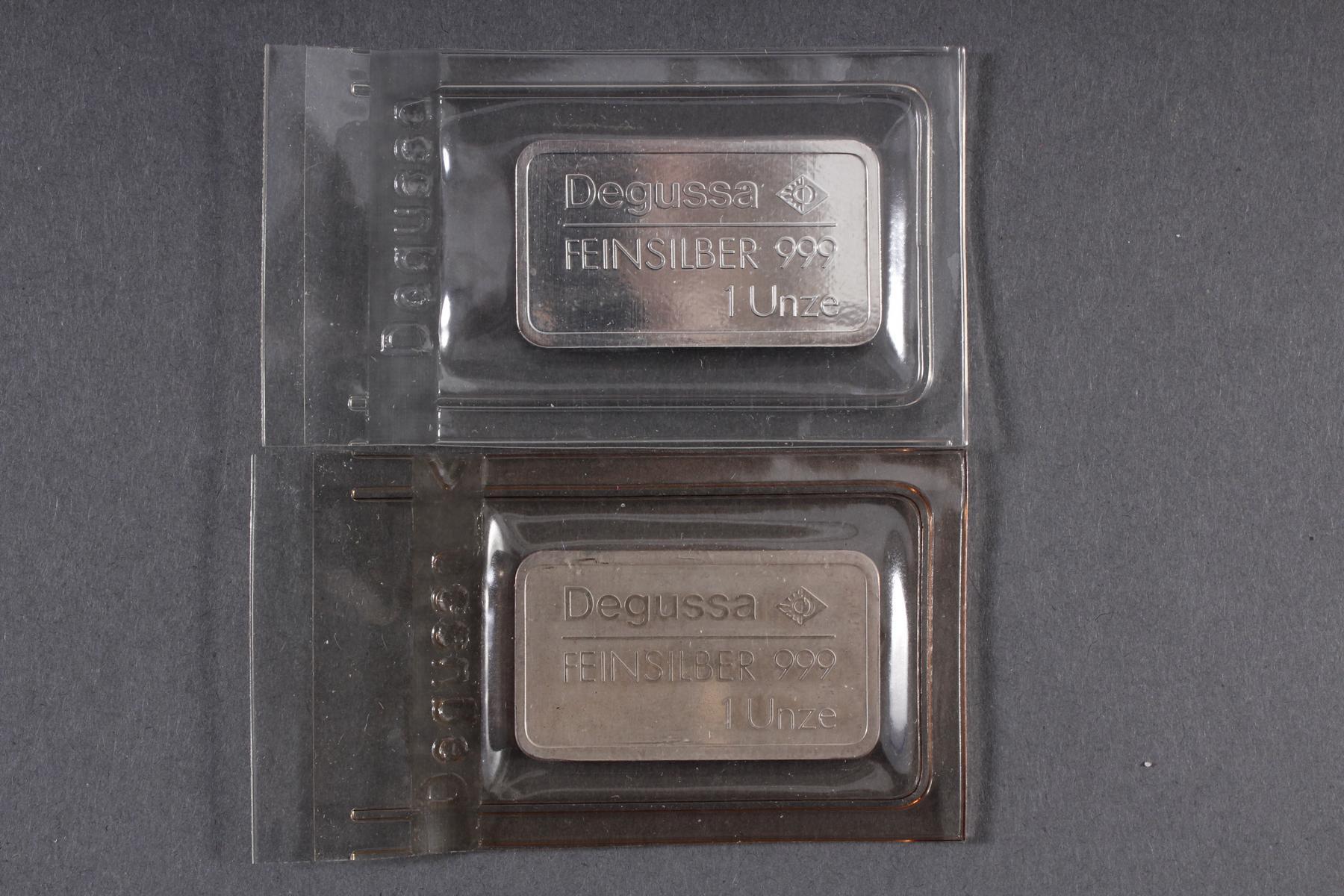 Silber Münz- / Barren- / Medaillenkonvolut-7