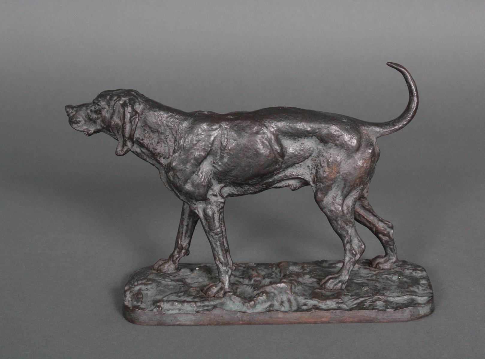 Bronze Jagdhund-3