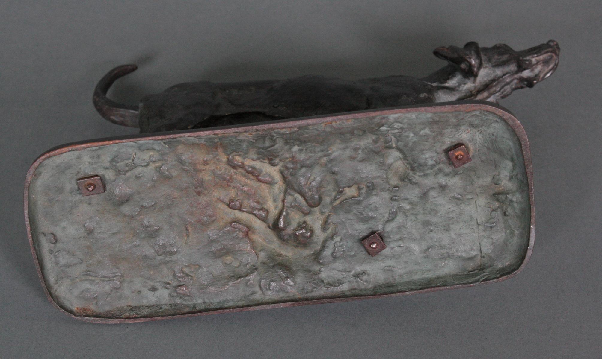 Bronze Jagdhund-5