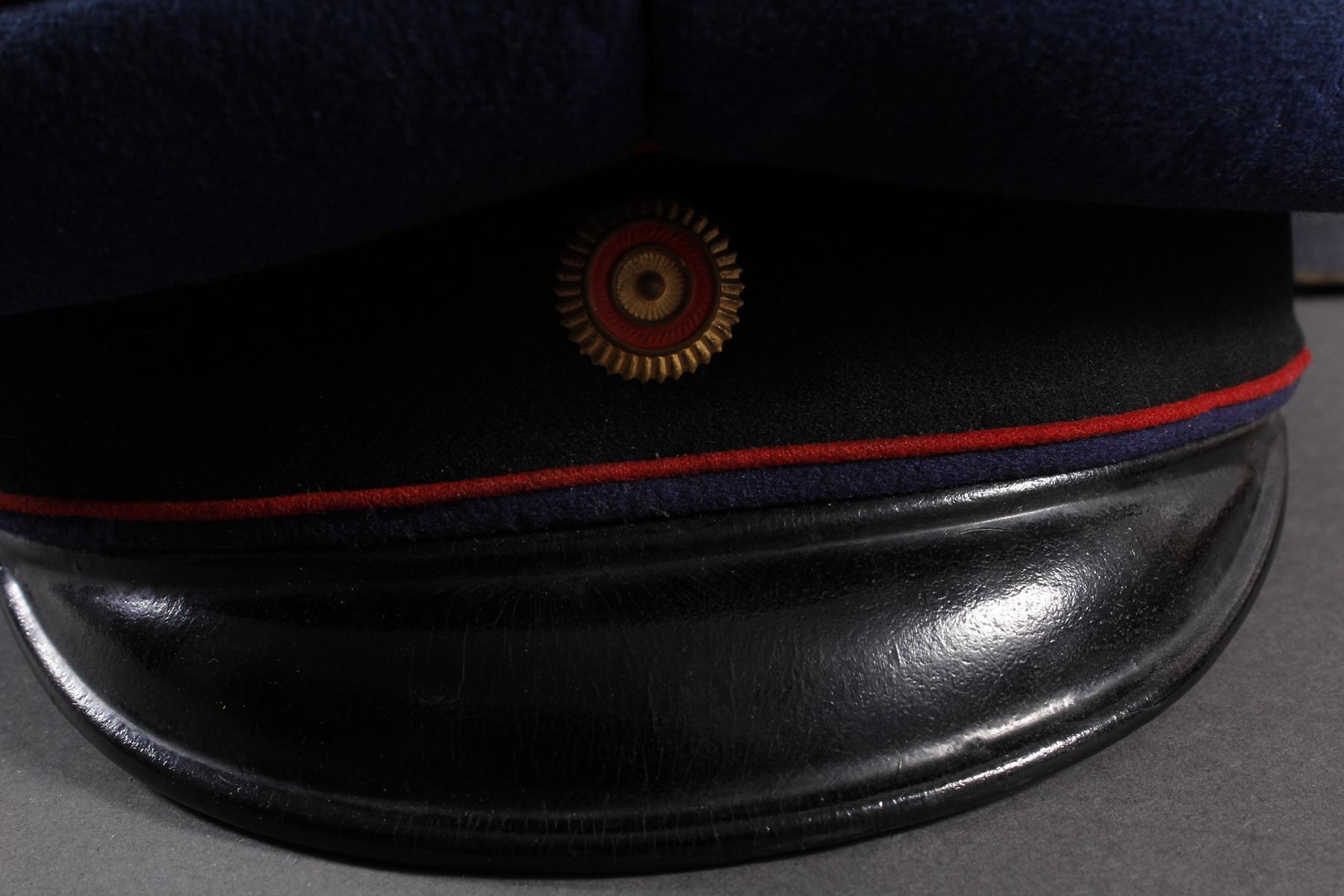Baden: Eisenbahnermütze mit Schachtel und Hut-2