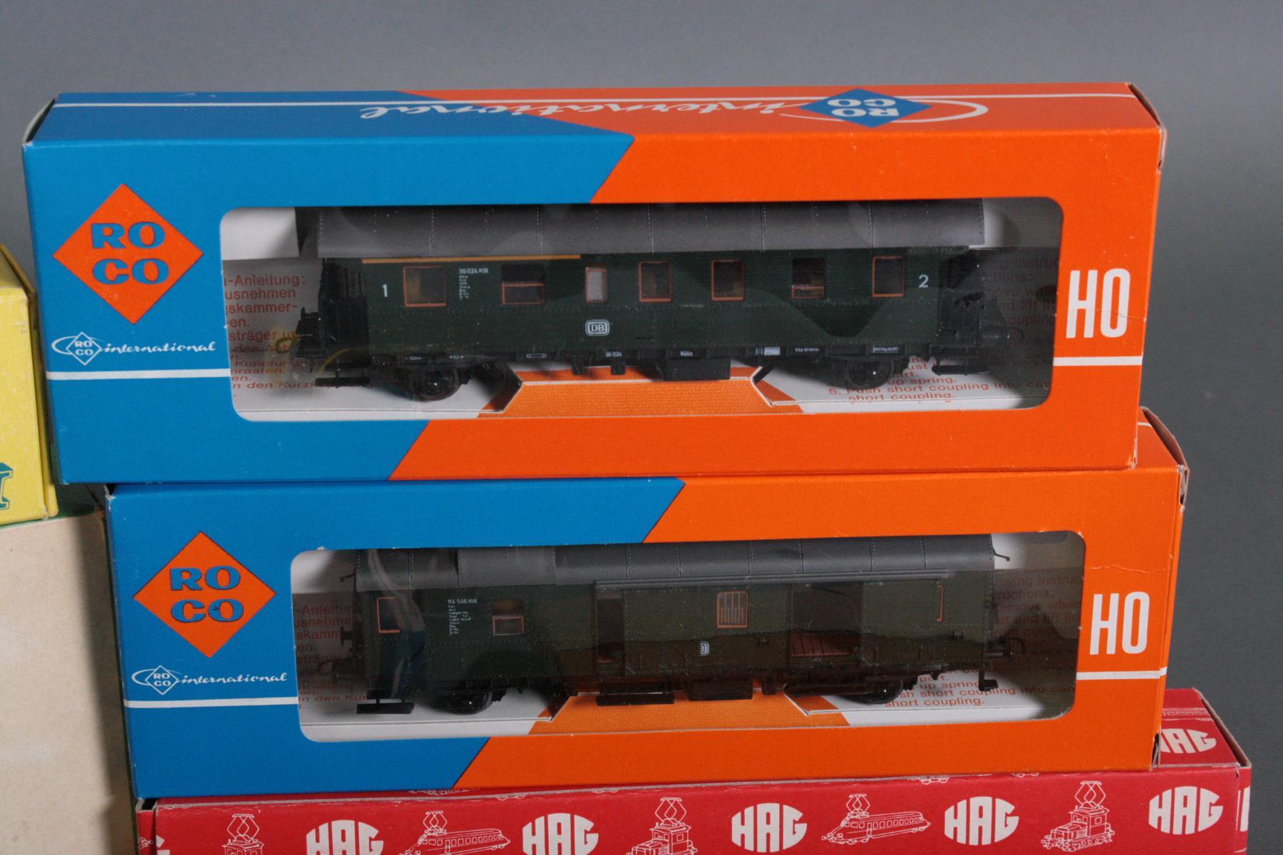 Konvolut Eisenbahn Spur HO, teils neuwertig und in den original Verpackungen-2