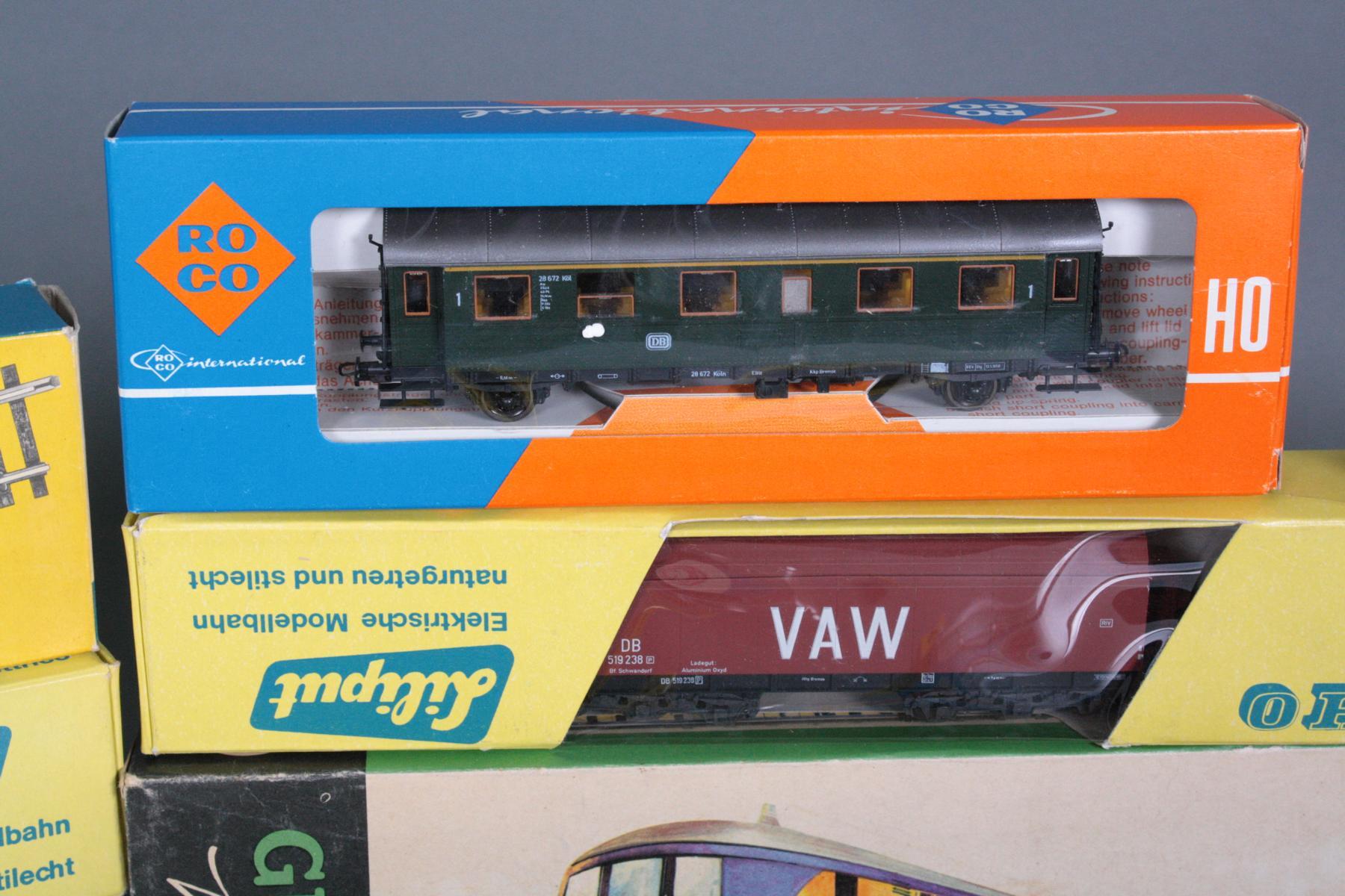 Konvolut Eisenbahn Spur HO, teils neuwertig und in den original Verpackungen-3