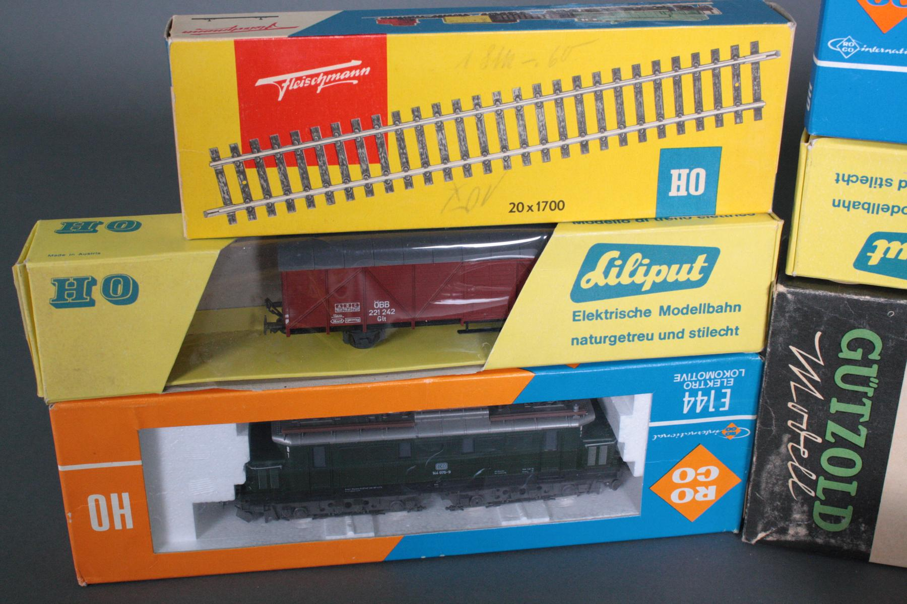 Konvolut Eisenbahn Spur HO, teils neuwertig und in den original Verpackungen-5