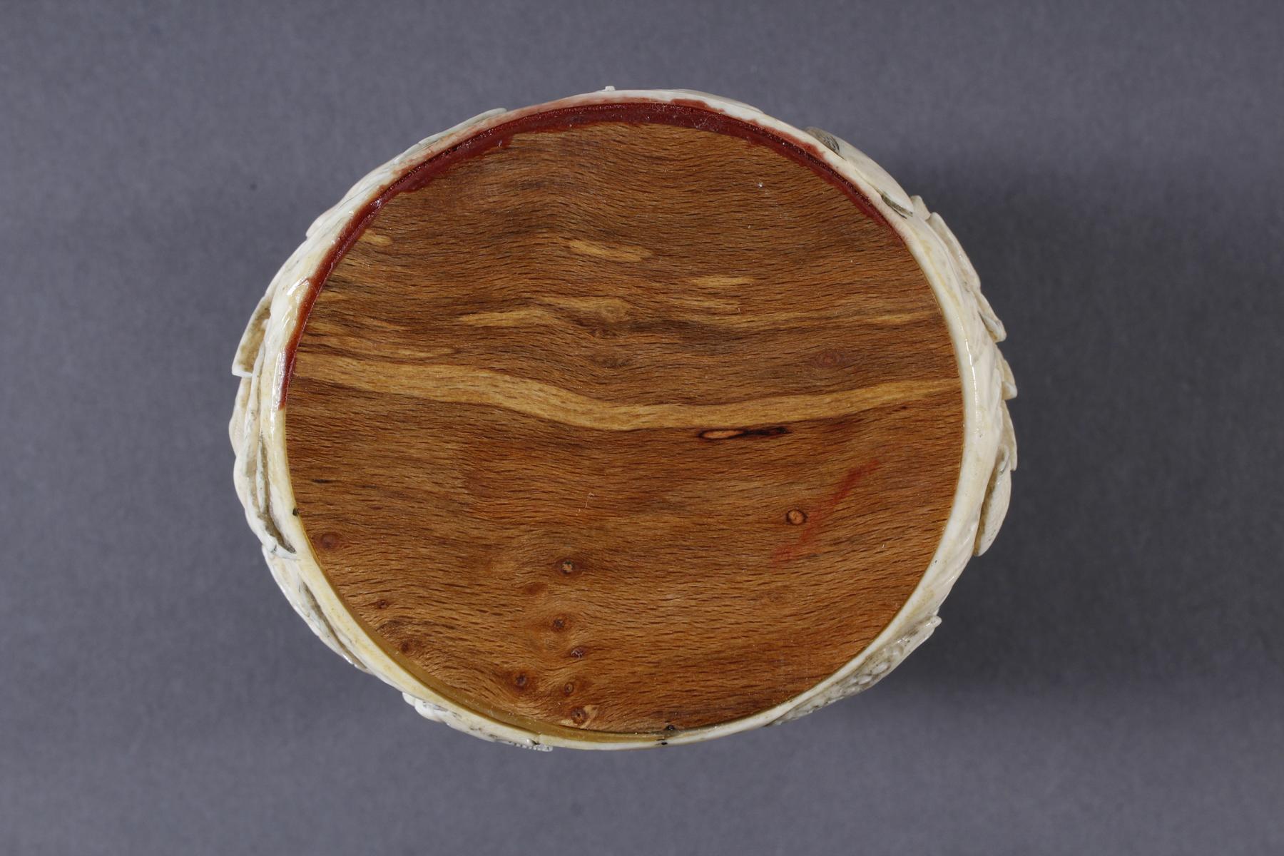 Elfenbein Dose, Japan, Meiji Periode, 19. Jahrhundert-10