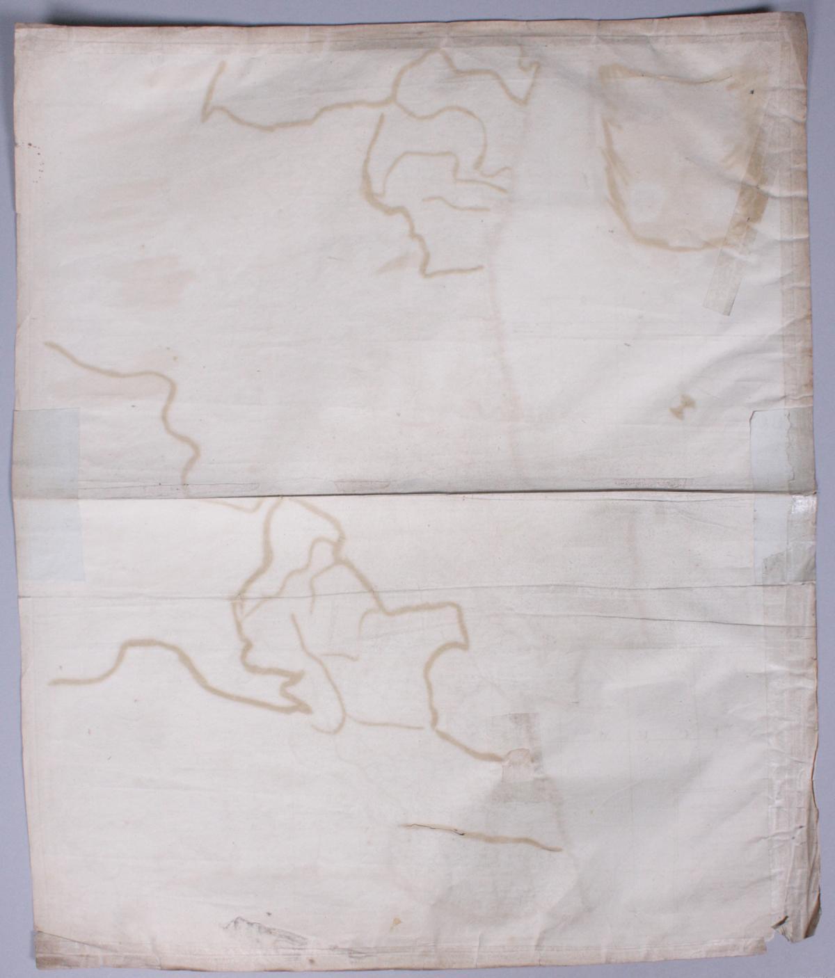 Kupferstich-Karte von Petrus Schenk, datiert 1703, altkoloriert-3