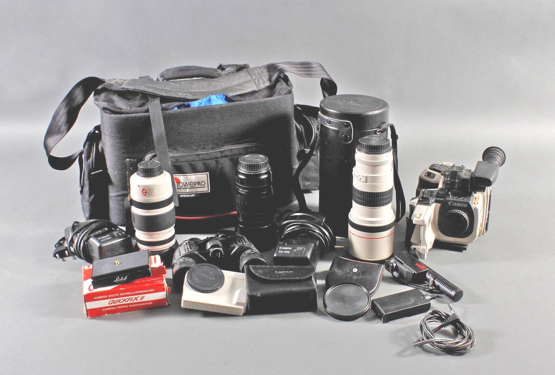 Konvolut Filmkamera und Optik