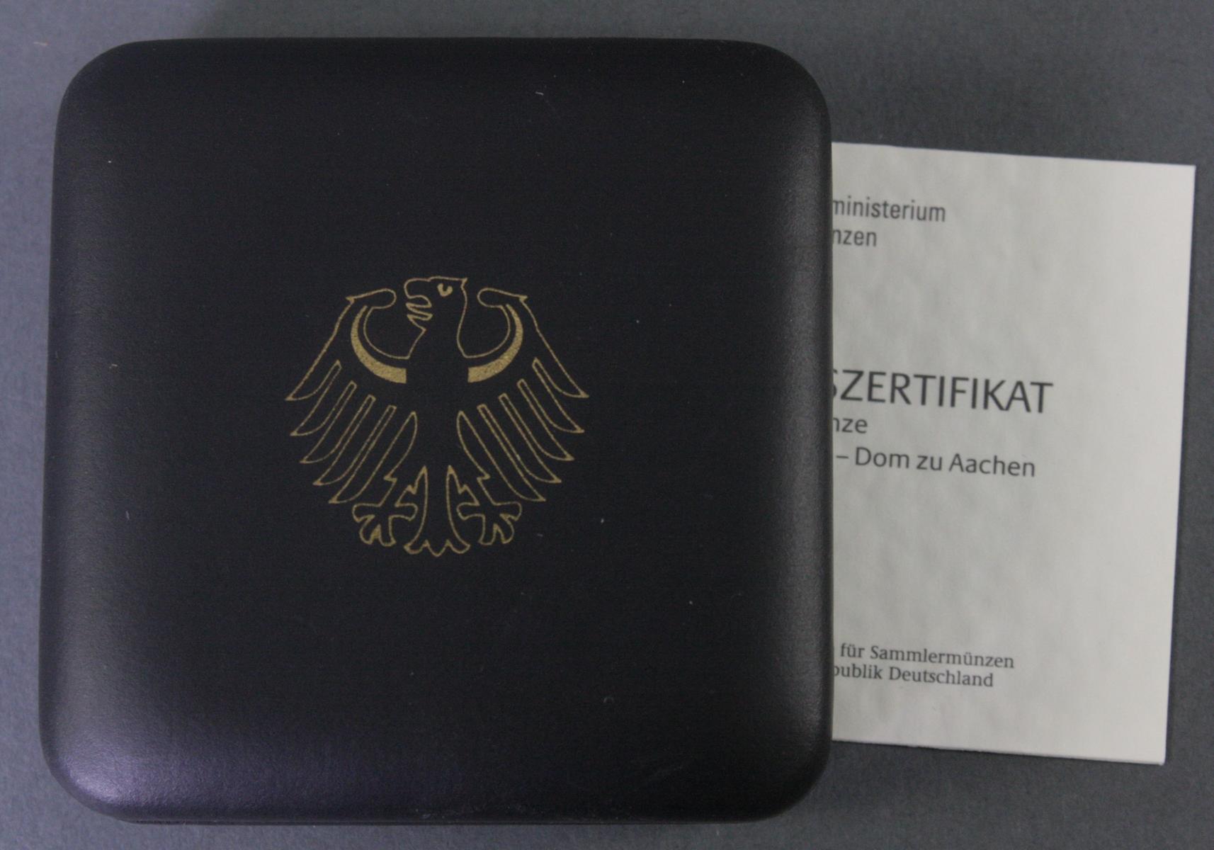 100 Euro Goldmünze 2012, UNESCO Welterbe – Dom zu Aachen-3