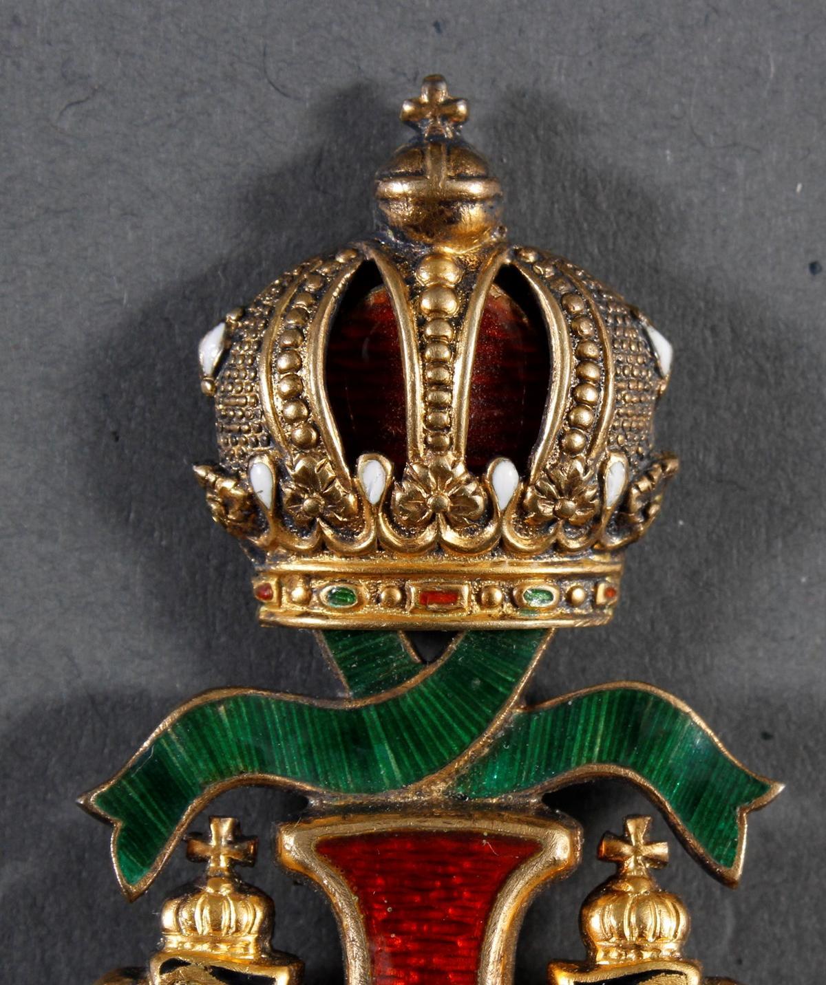 Franz Joseph-Orden, Offizierskreuz mit Kriegsdekoration (KD)-5