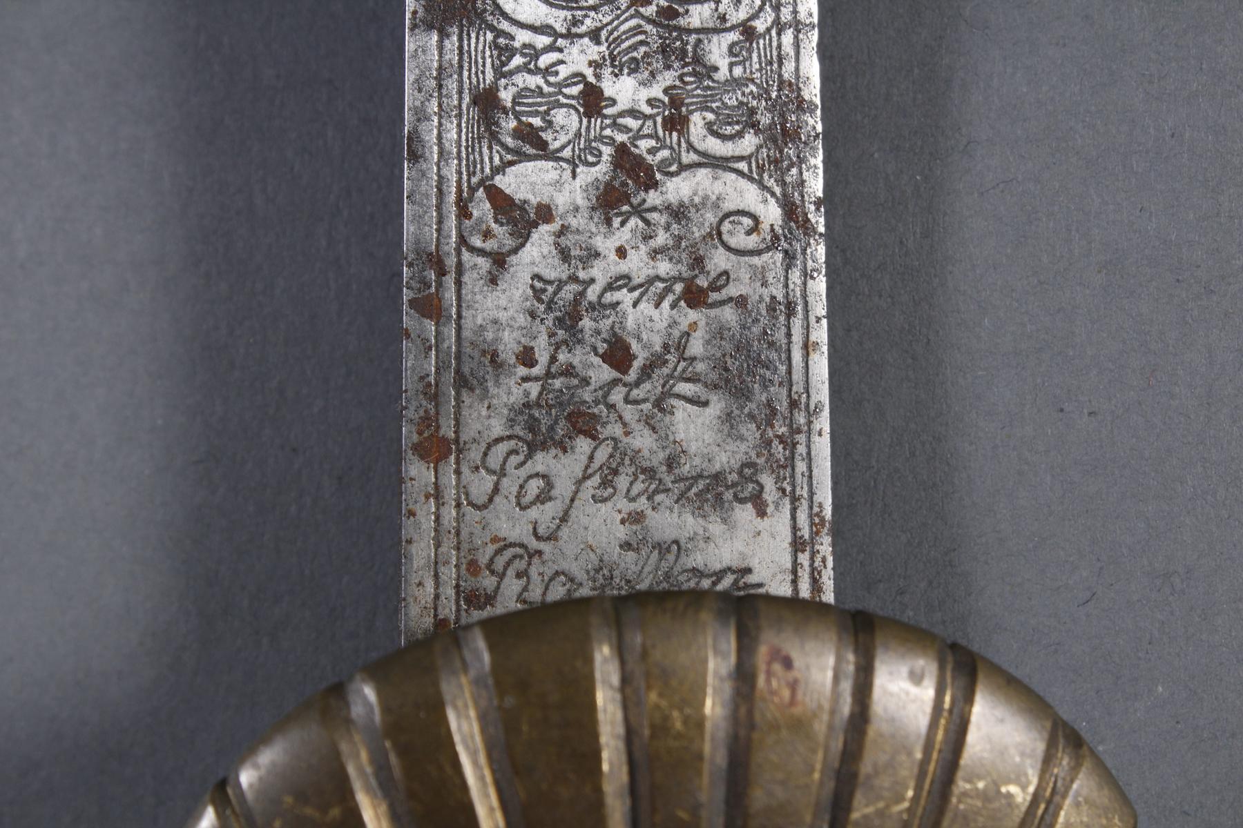 Französischer Hirschfänger / Jagdschwert-8