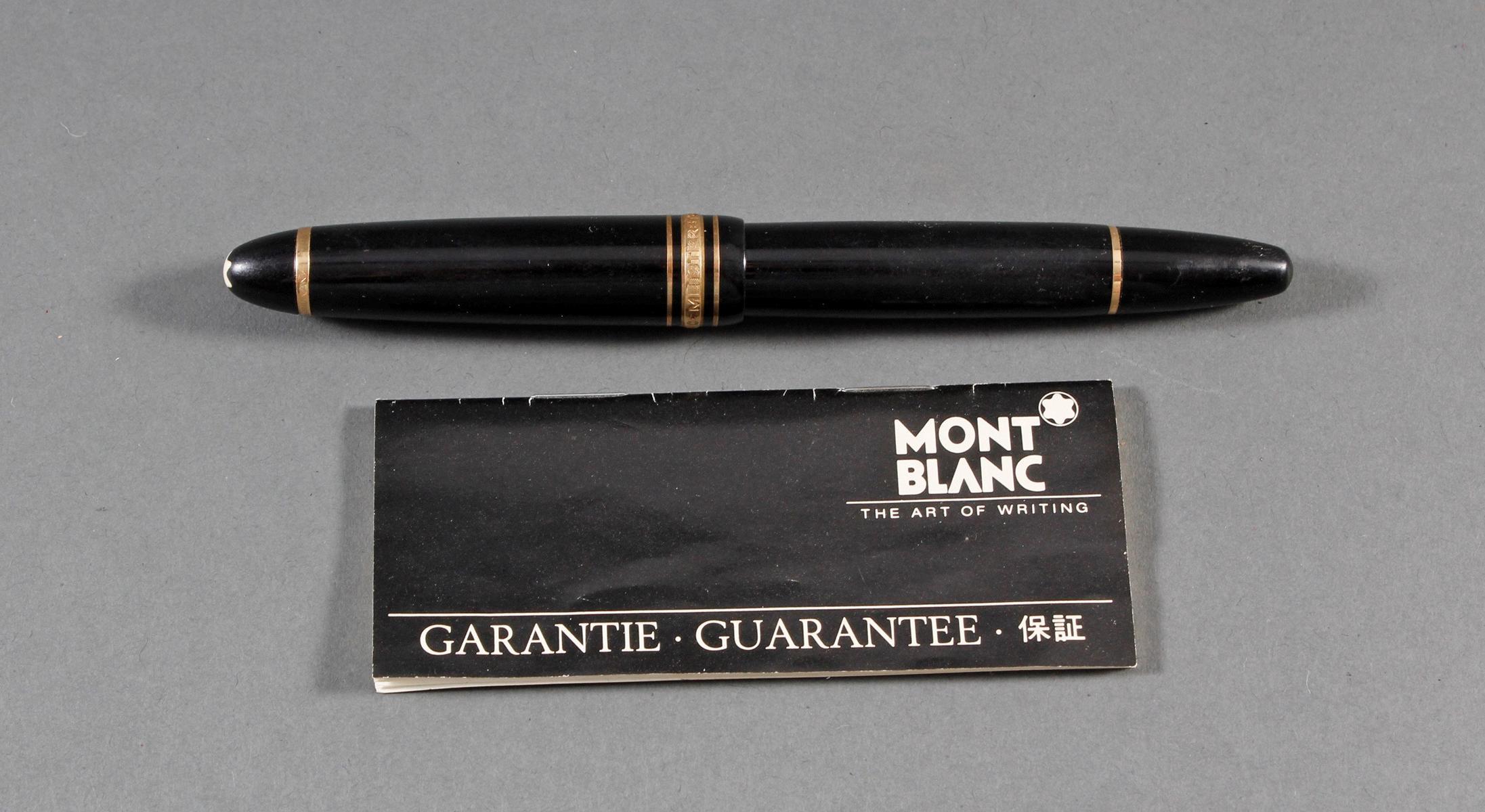 Montblanc Meisterstück Kolbenfüller No. 146-6