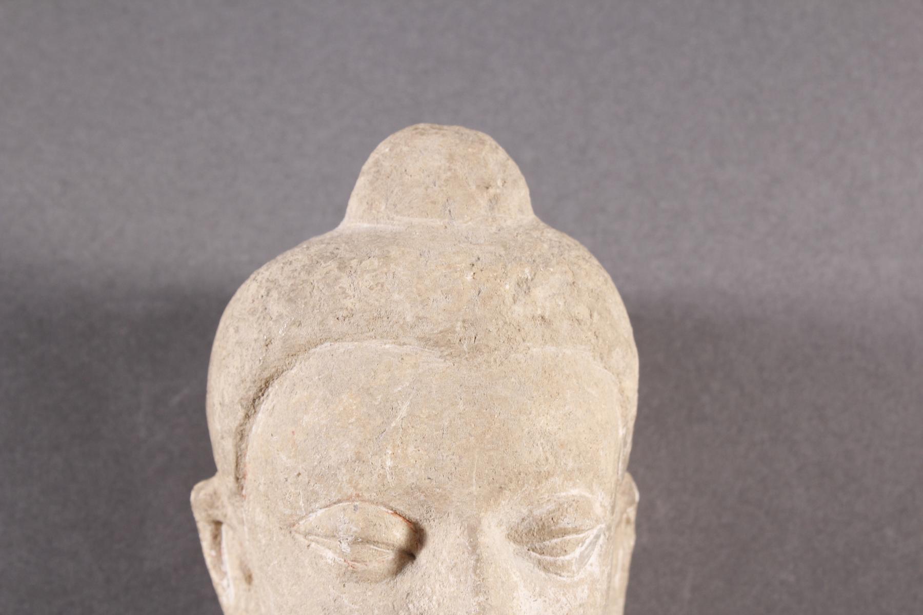 Kleiner Kopf des Buddha-3