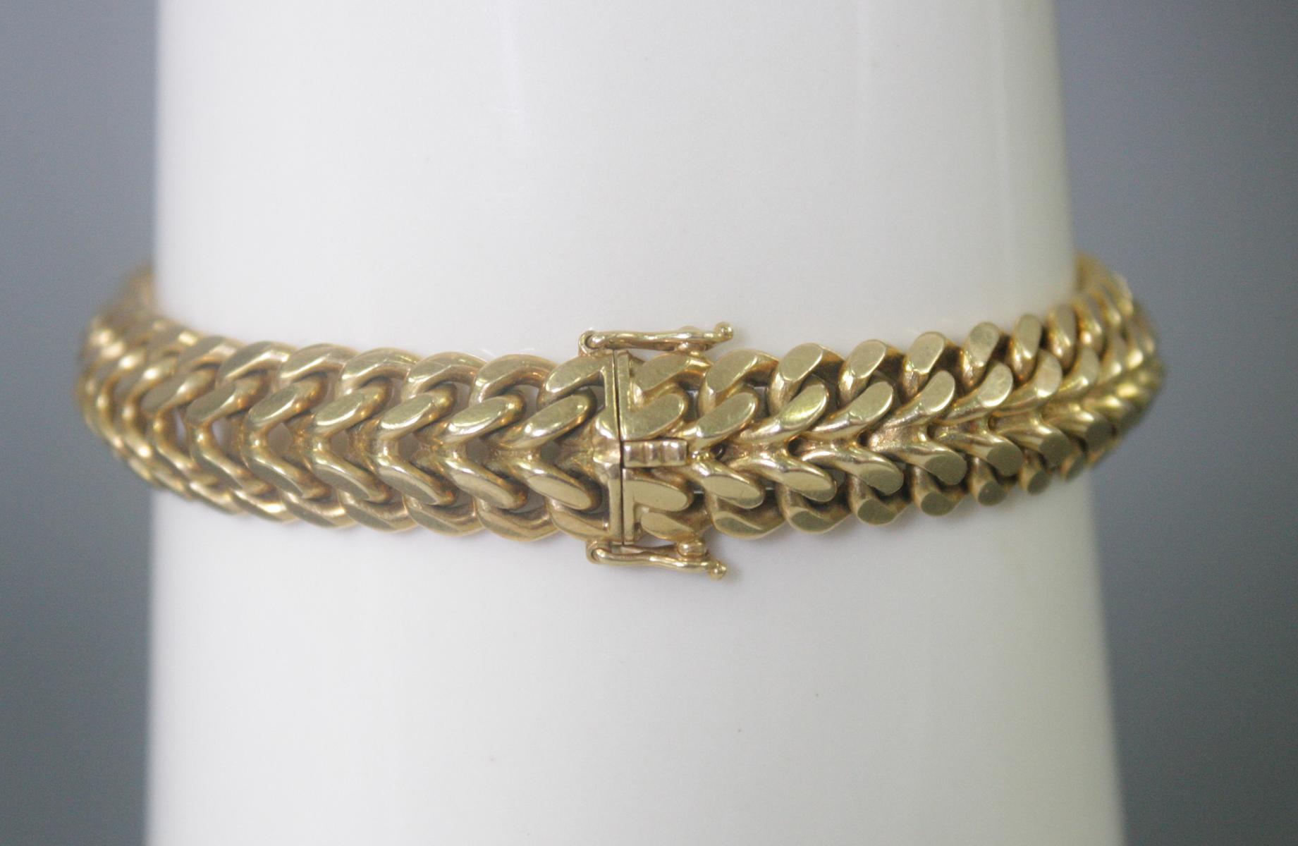 Damenarmband 18 Karat Gelbgold-2
