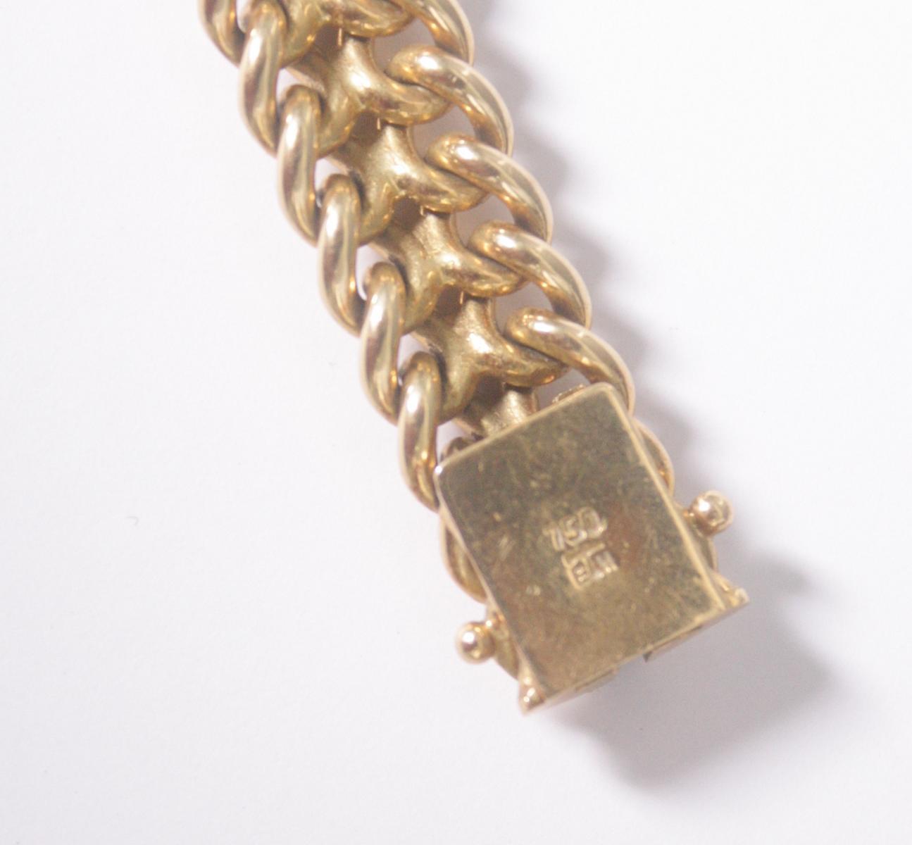 Damenarmband 18 Karat Gelbgold-4