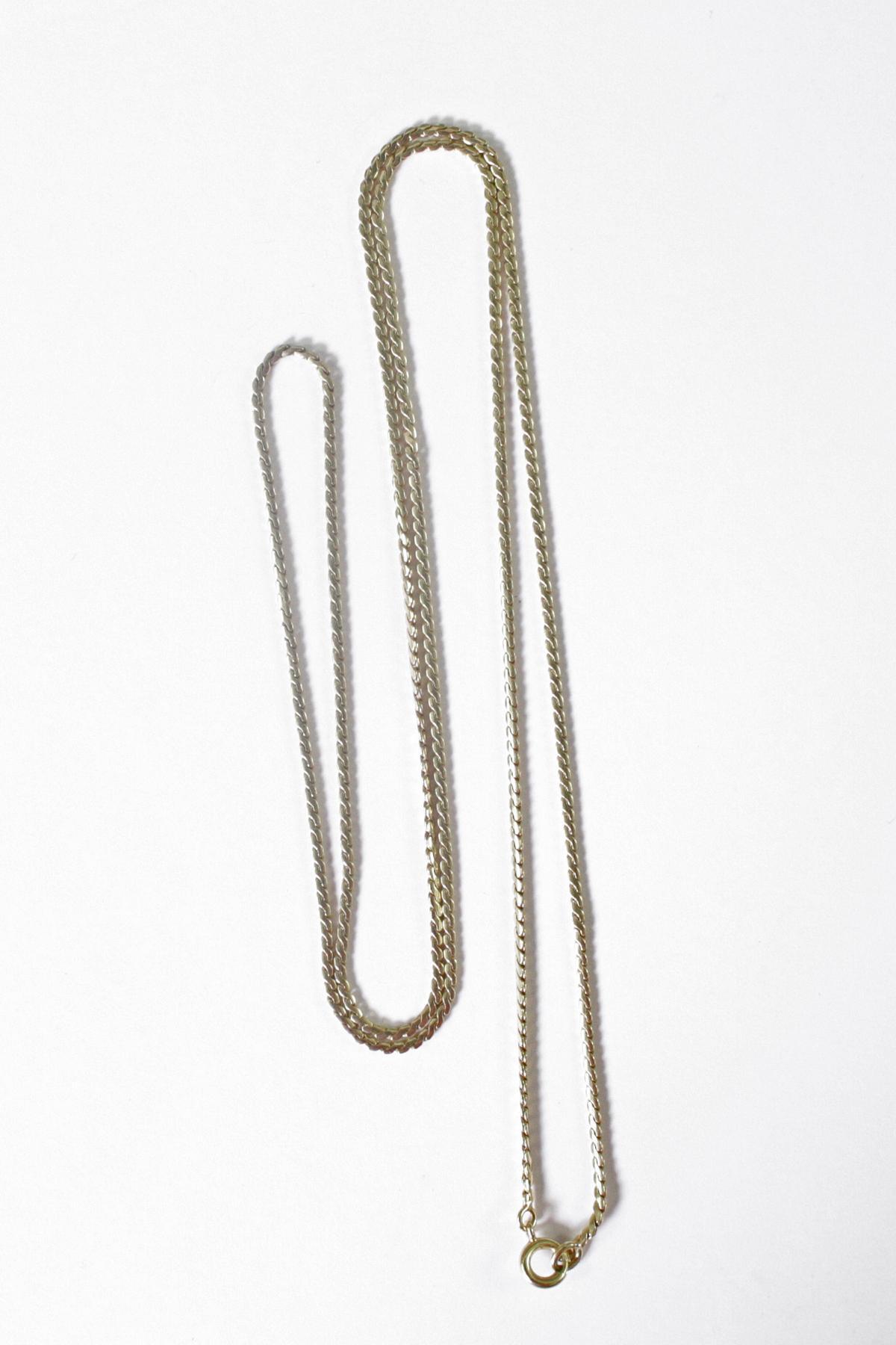 Halskette 14 Karat Gelbgold-2